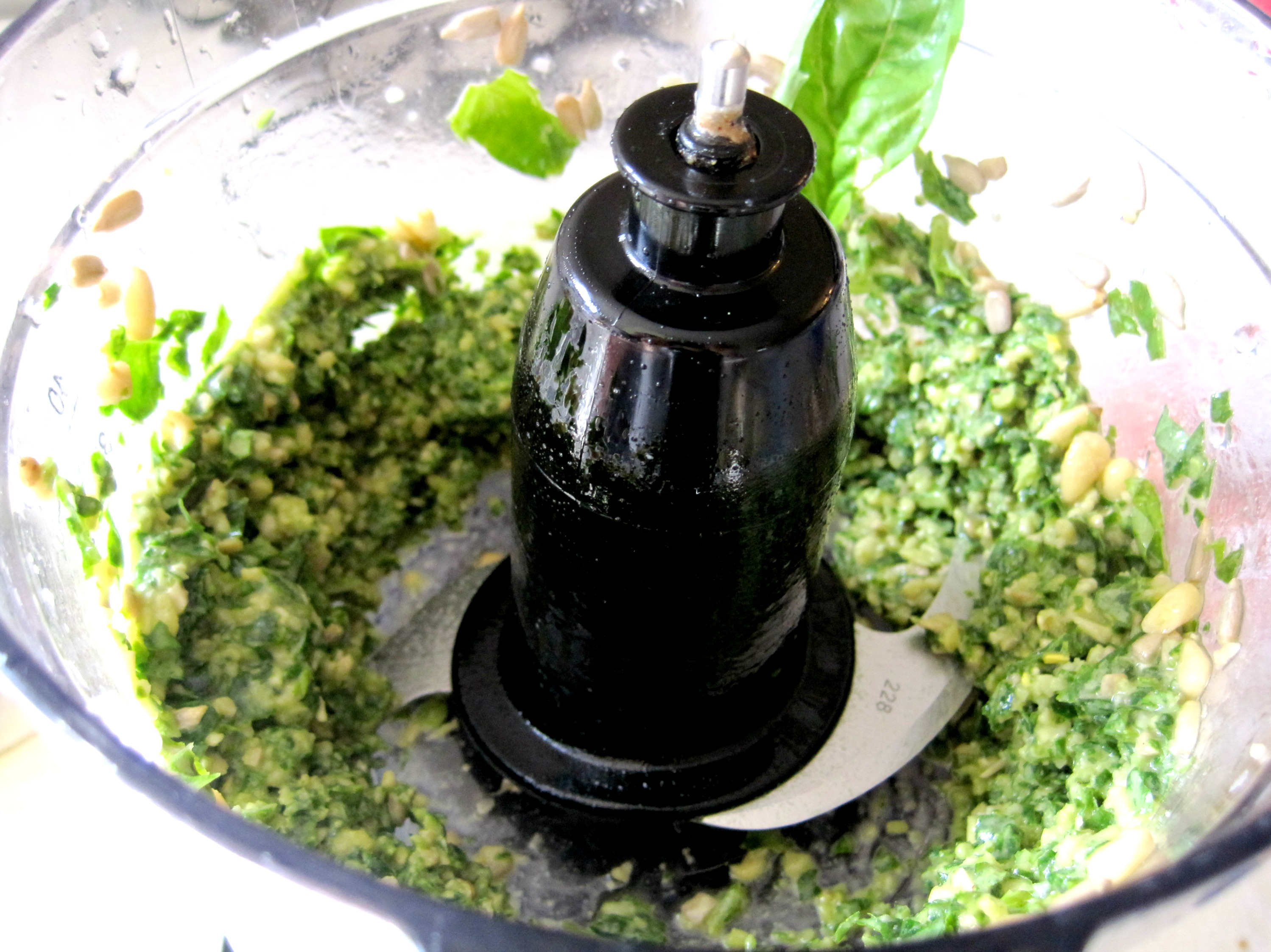 Basil Pesto Homemade