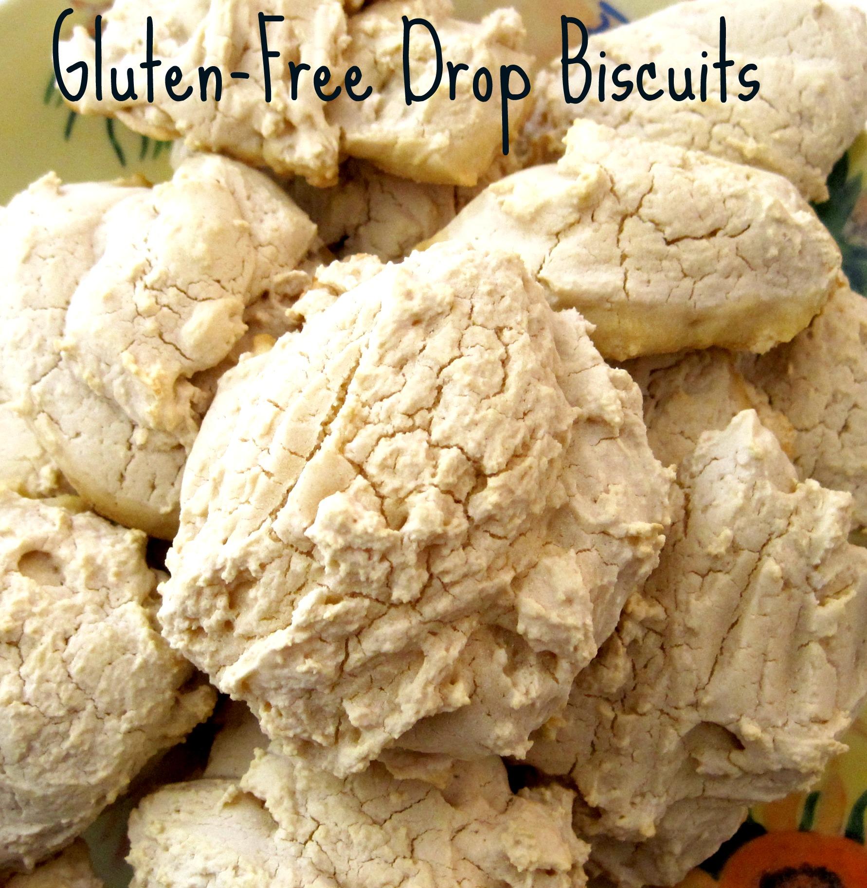glutenfree drop biscuits