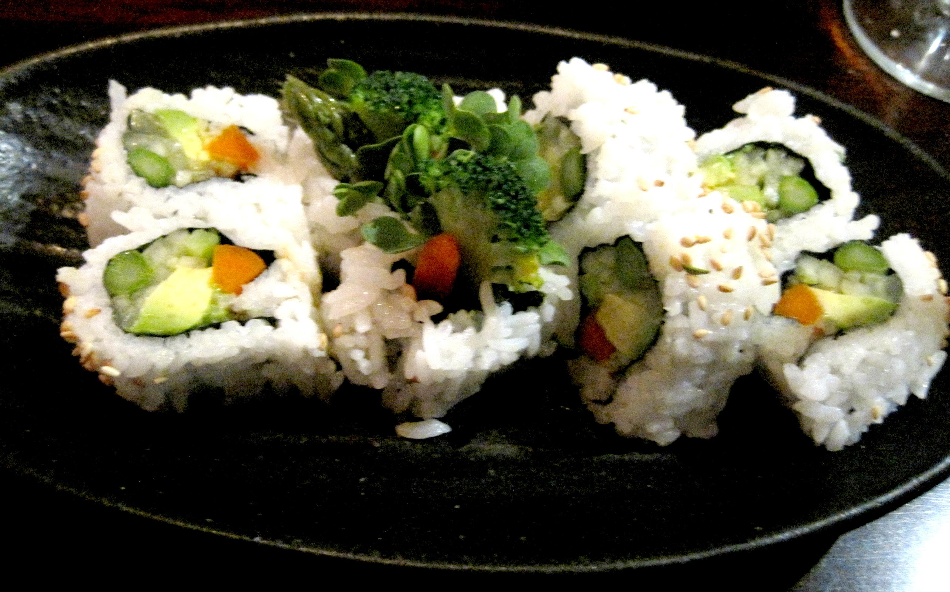 SushiShunka_VeggieRoll