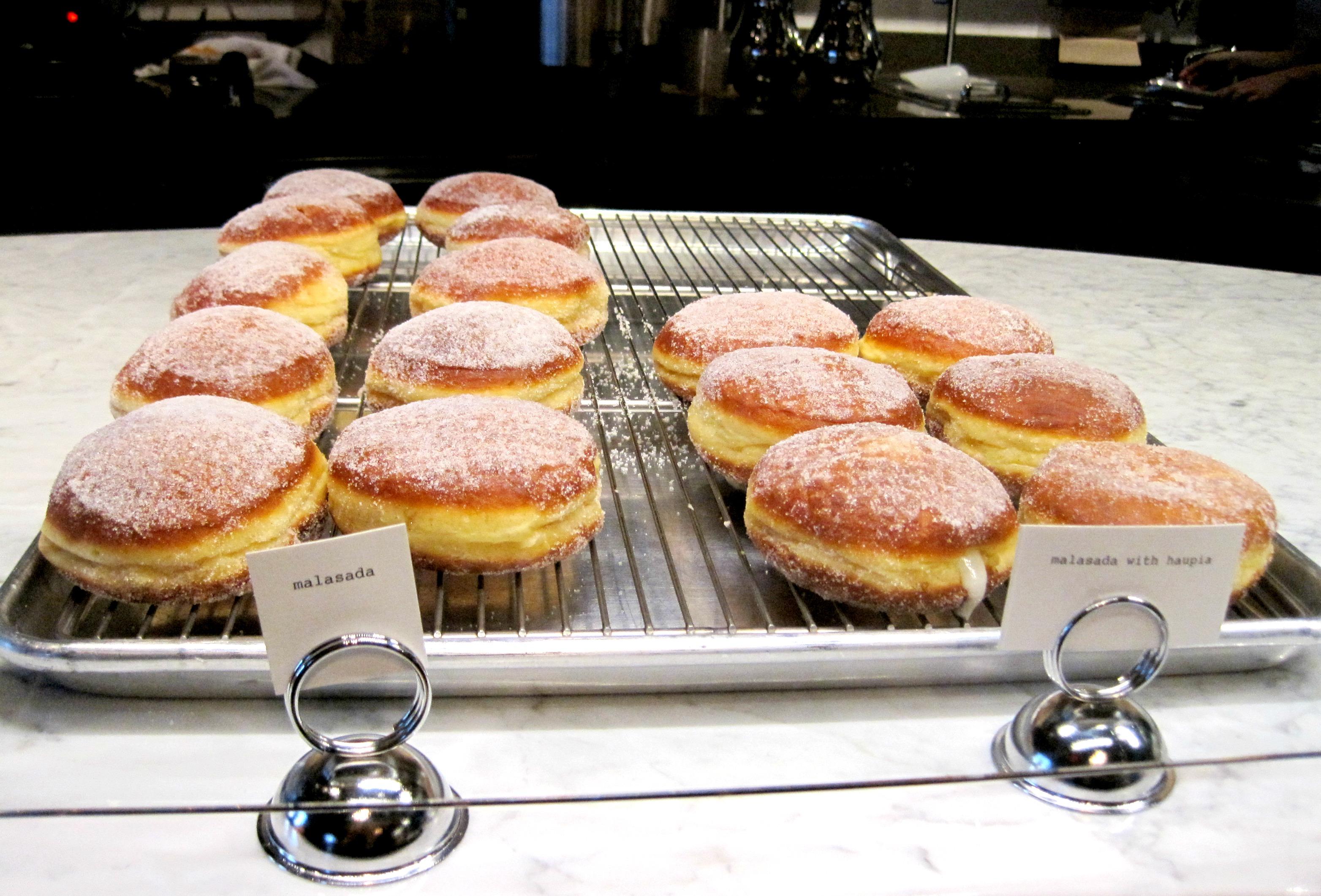 Sidecar doughnuts and coffee malsadas