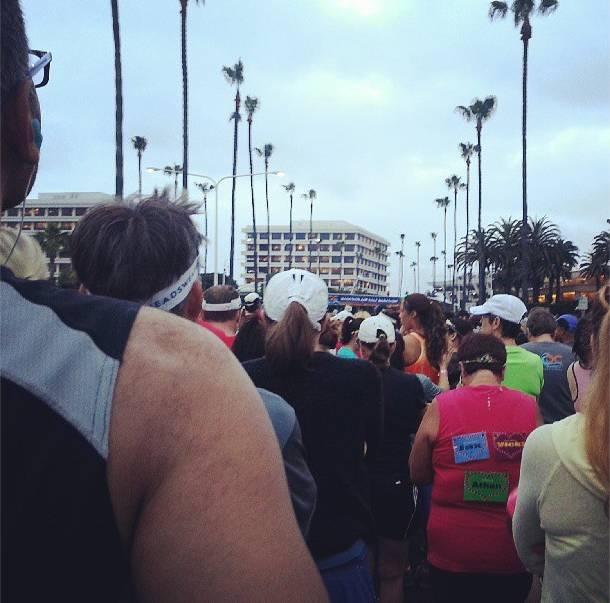 OC Half marathon start