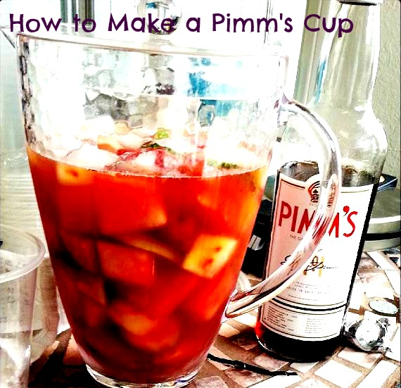 How to Make a Pimms Cup