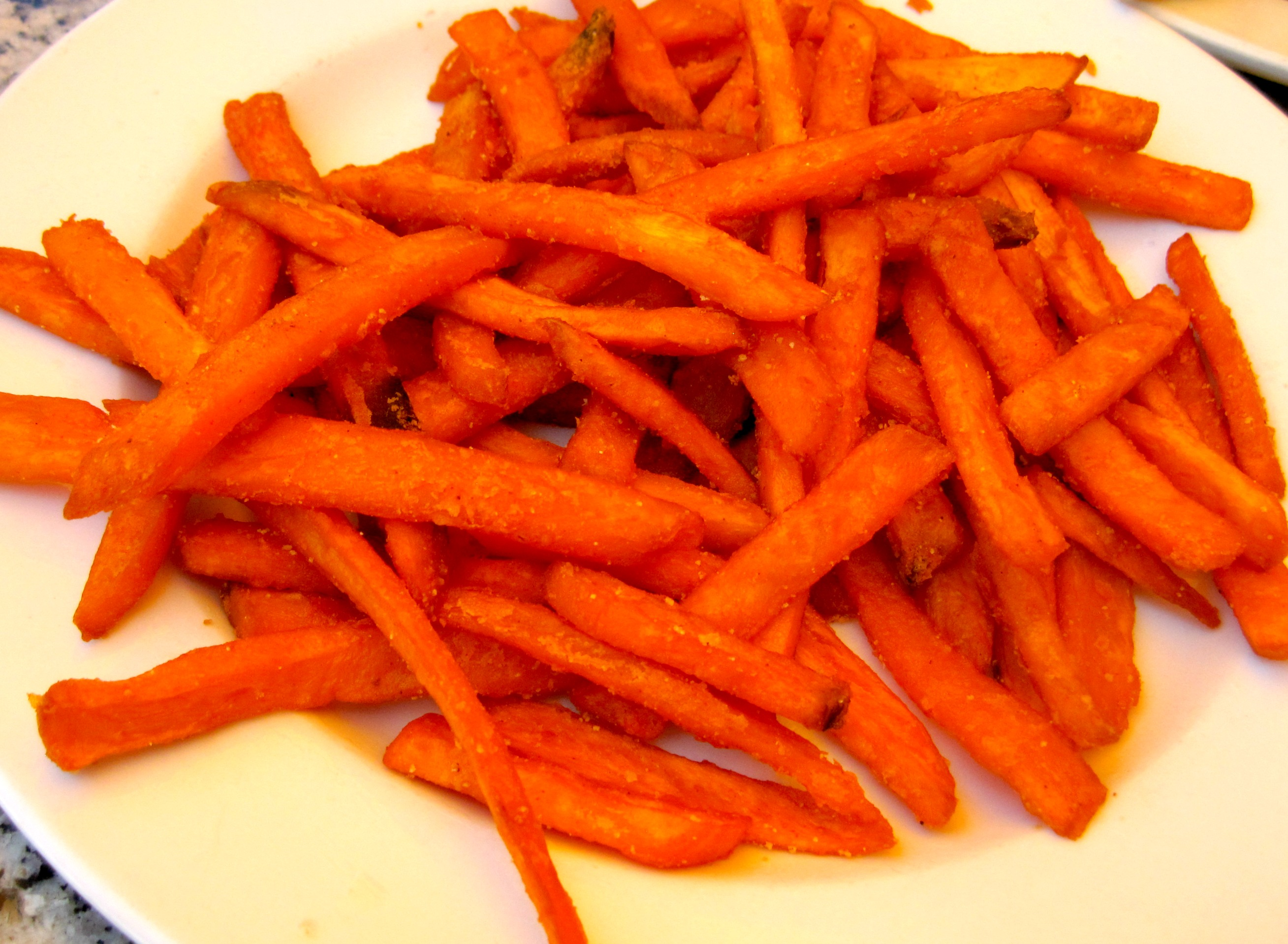 The Filling Station Cafe Sweet Potato Fries