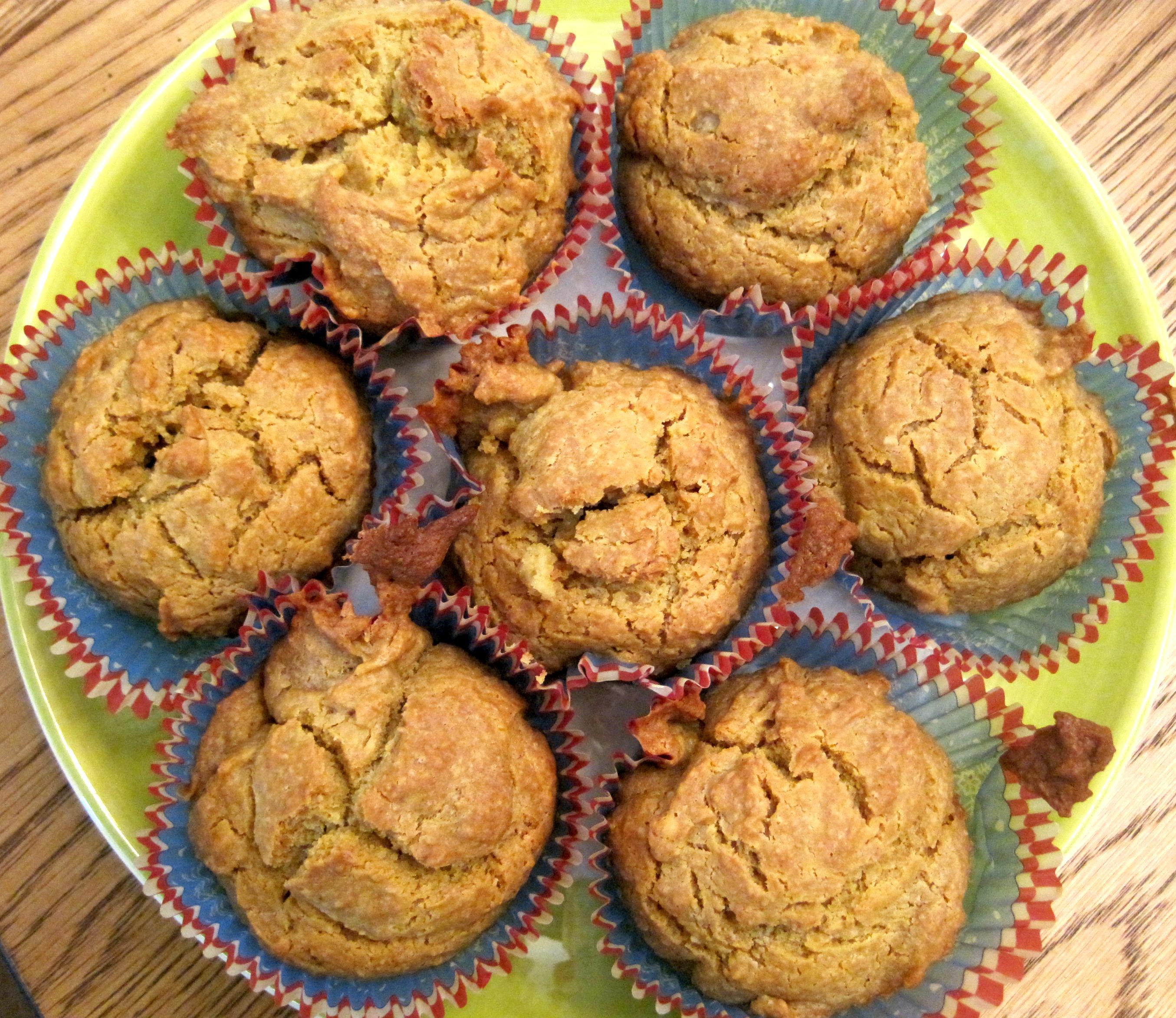 Quinoa Almond Muffins