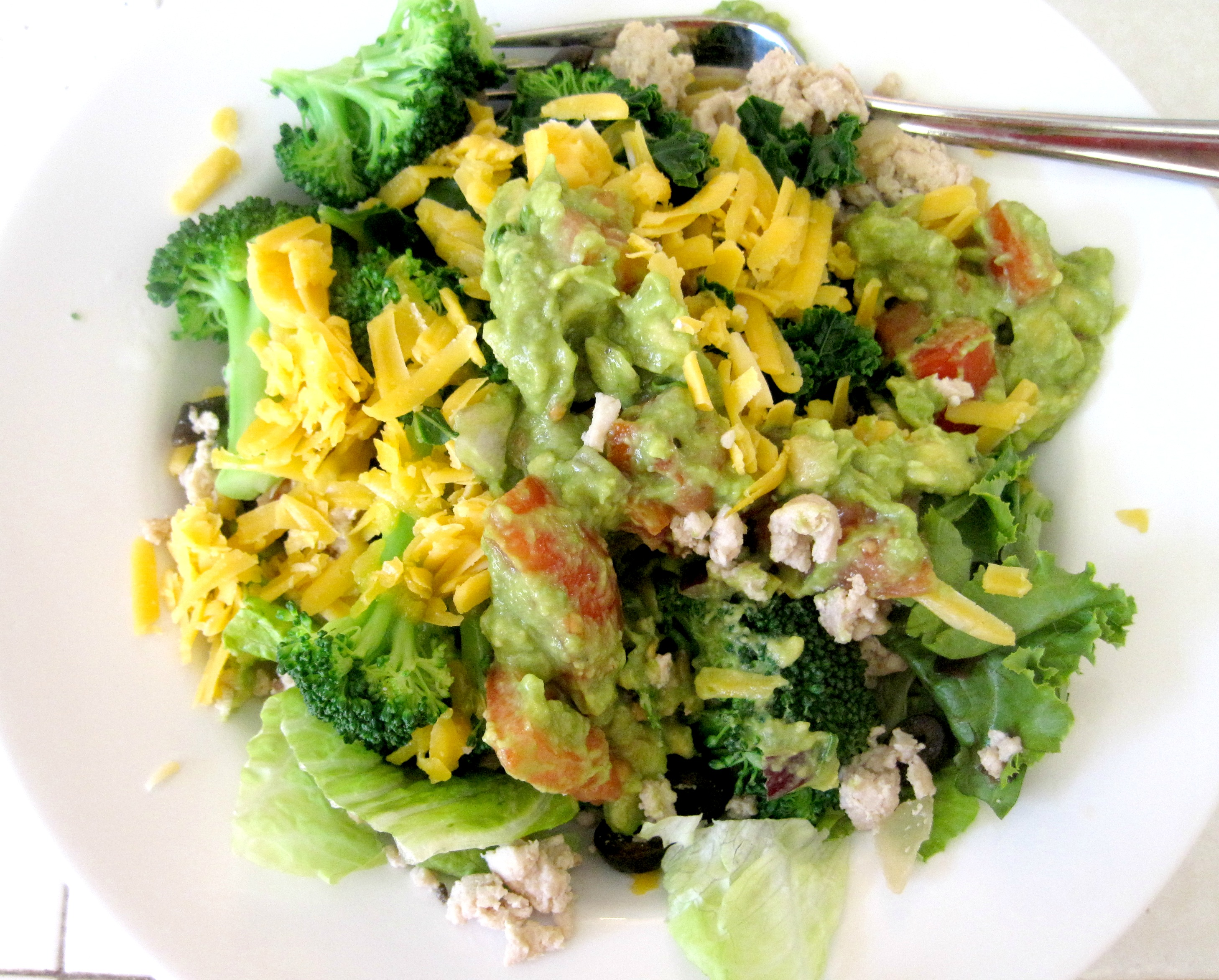 turkey taco meat salad