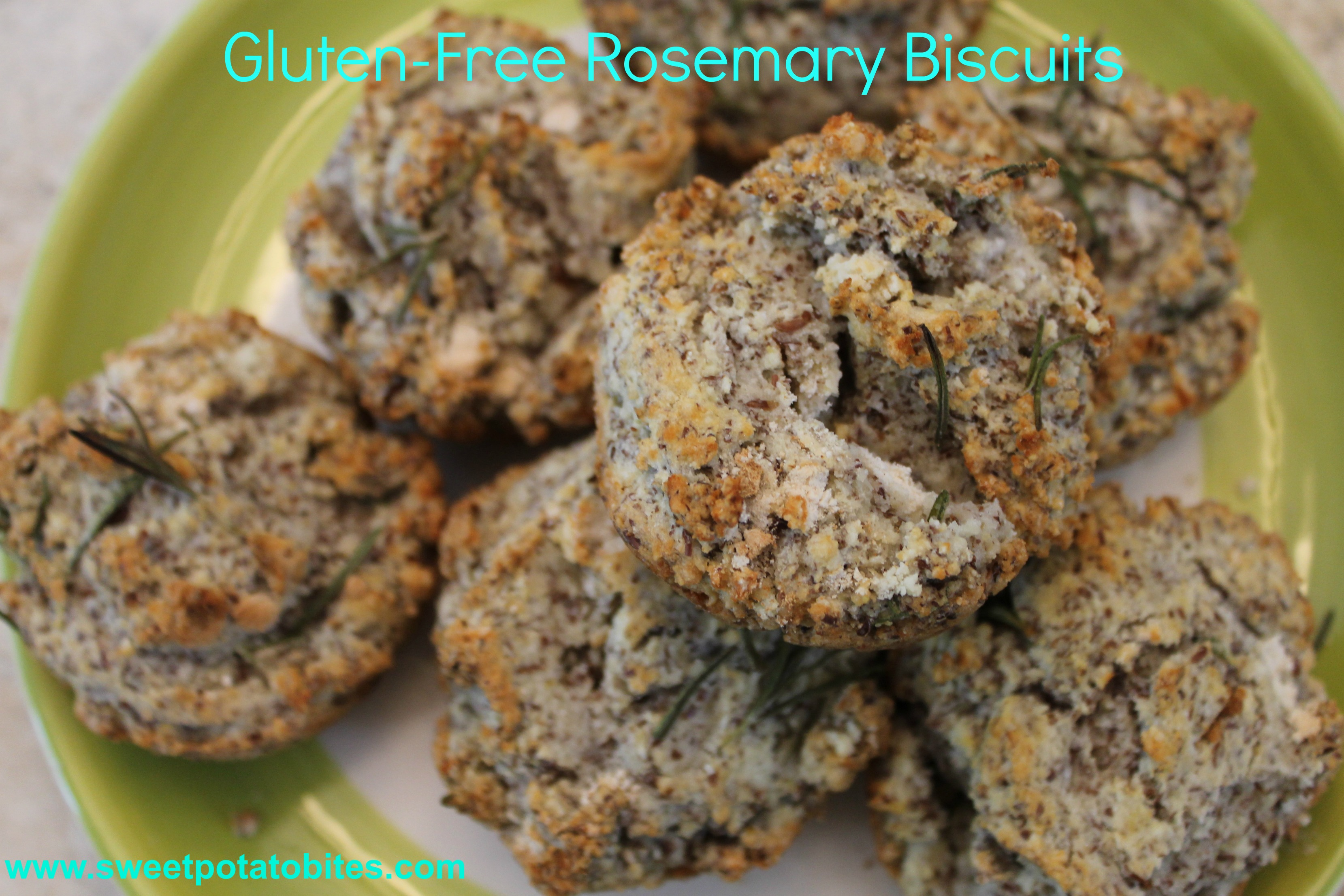 gluten free rosemary biscuits pin
