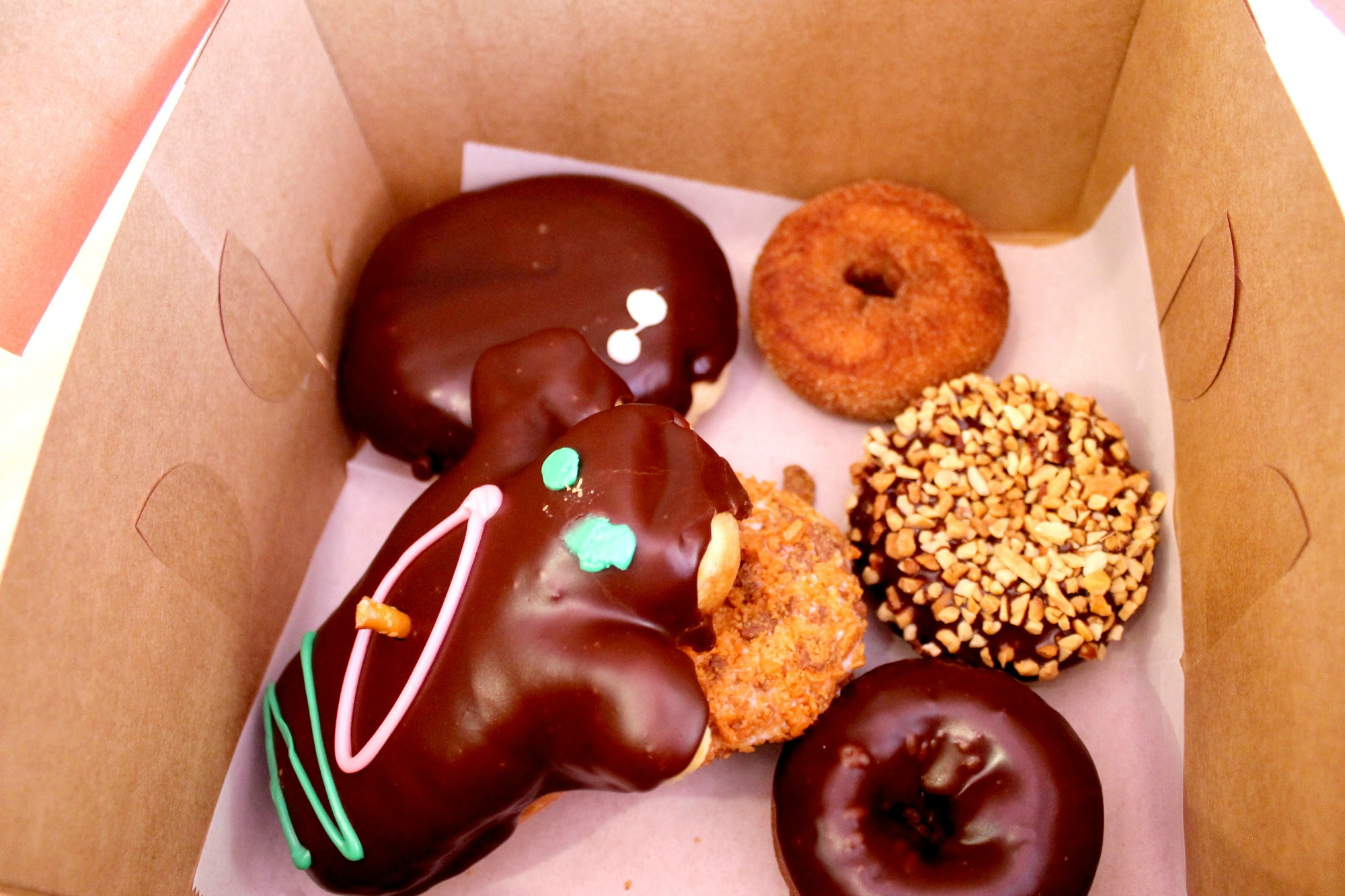 Voodoo Doughnut Selection