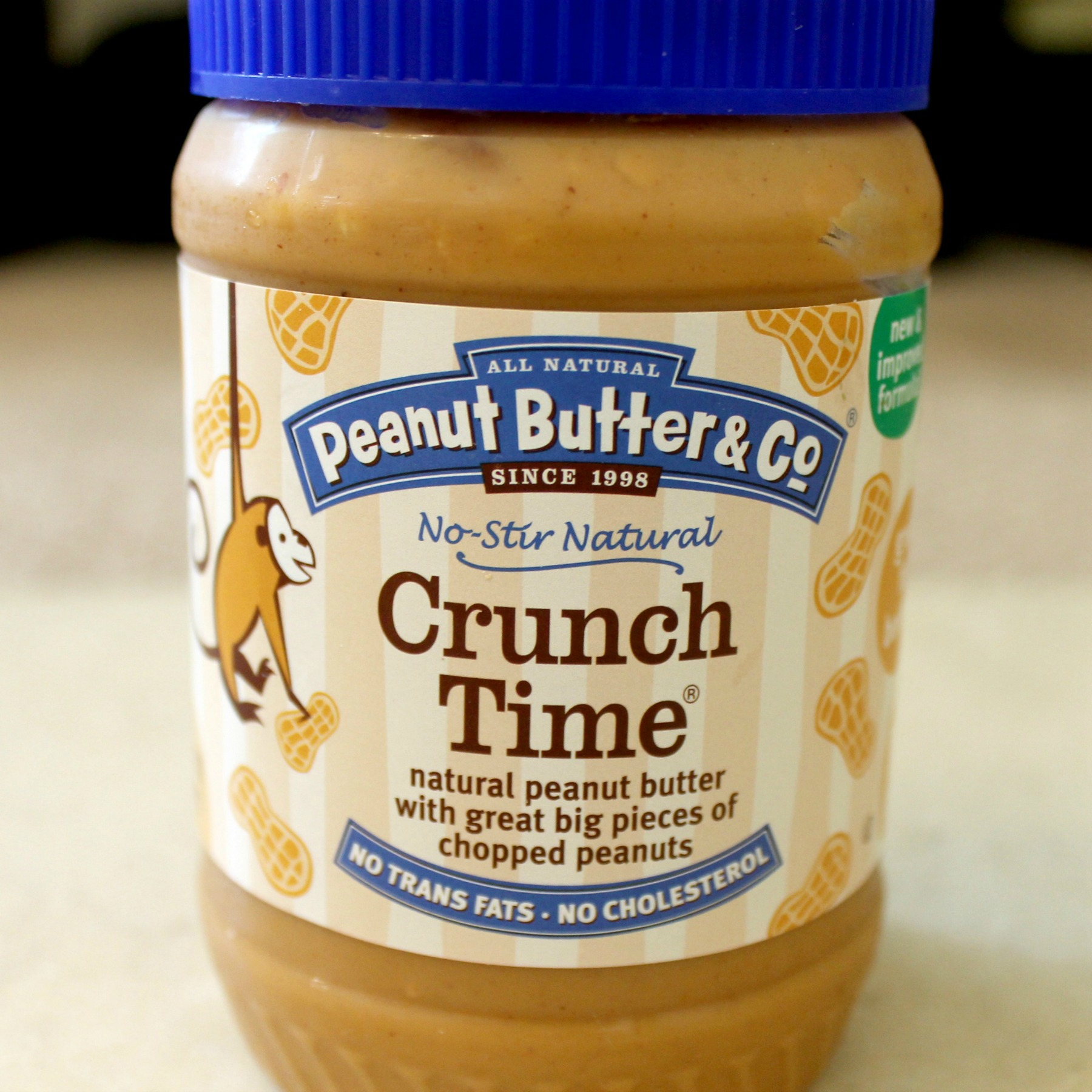 peanut butter bread crunch time