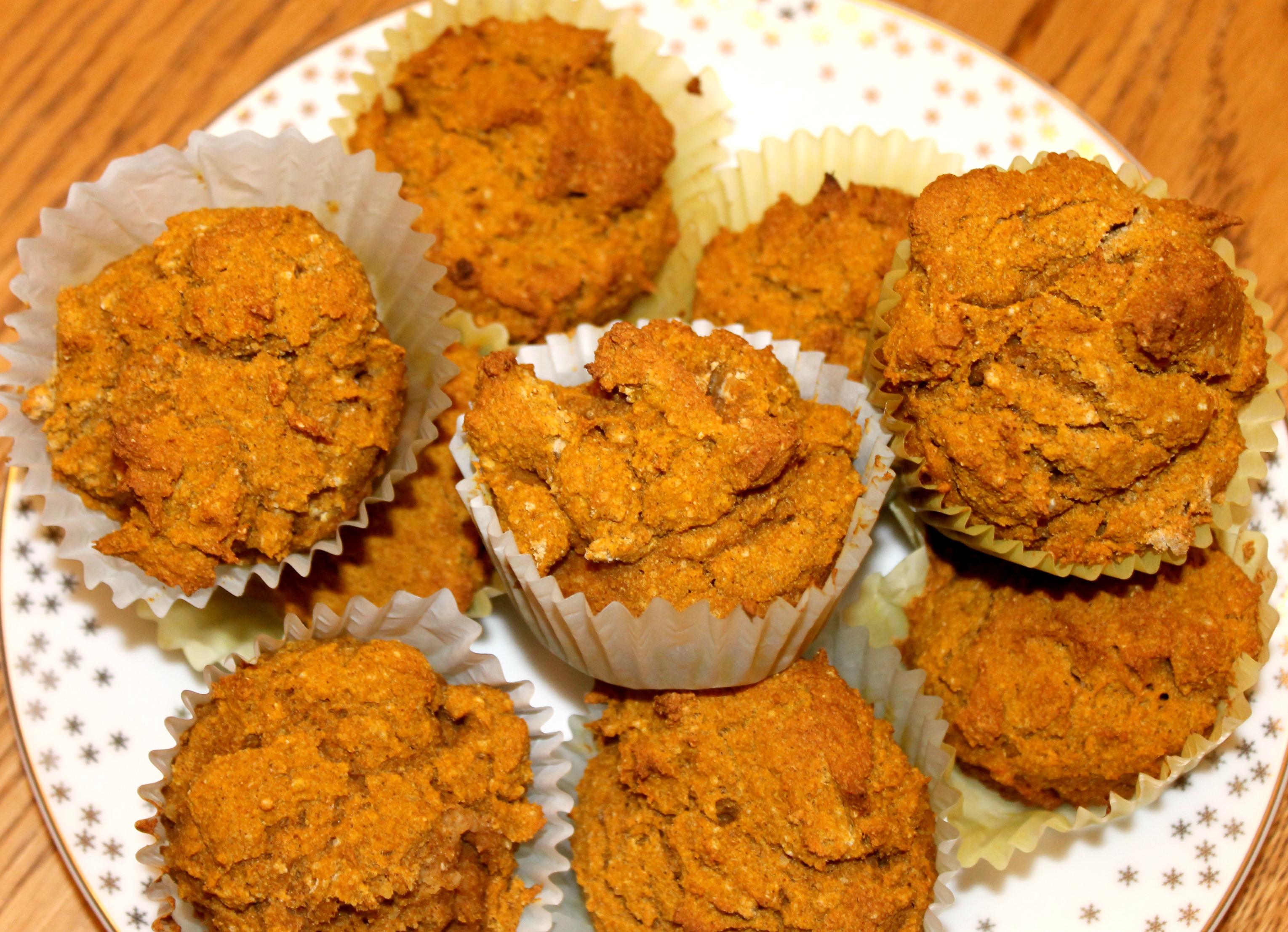 gluten free pumpkin muffins paper liners