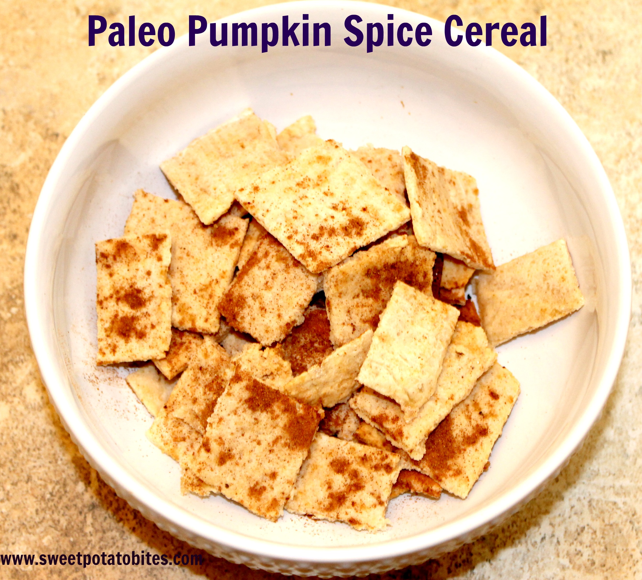 Paleo Pumpkin Spice Cereal Pin