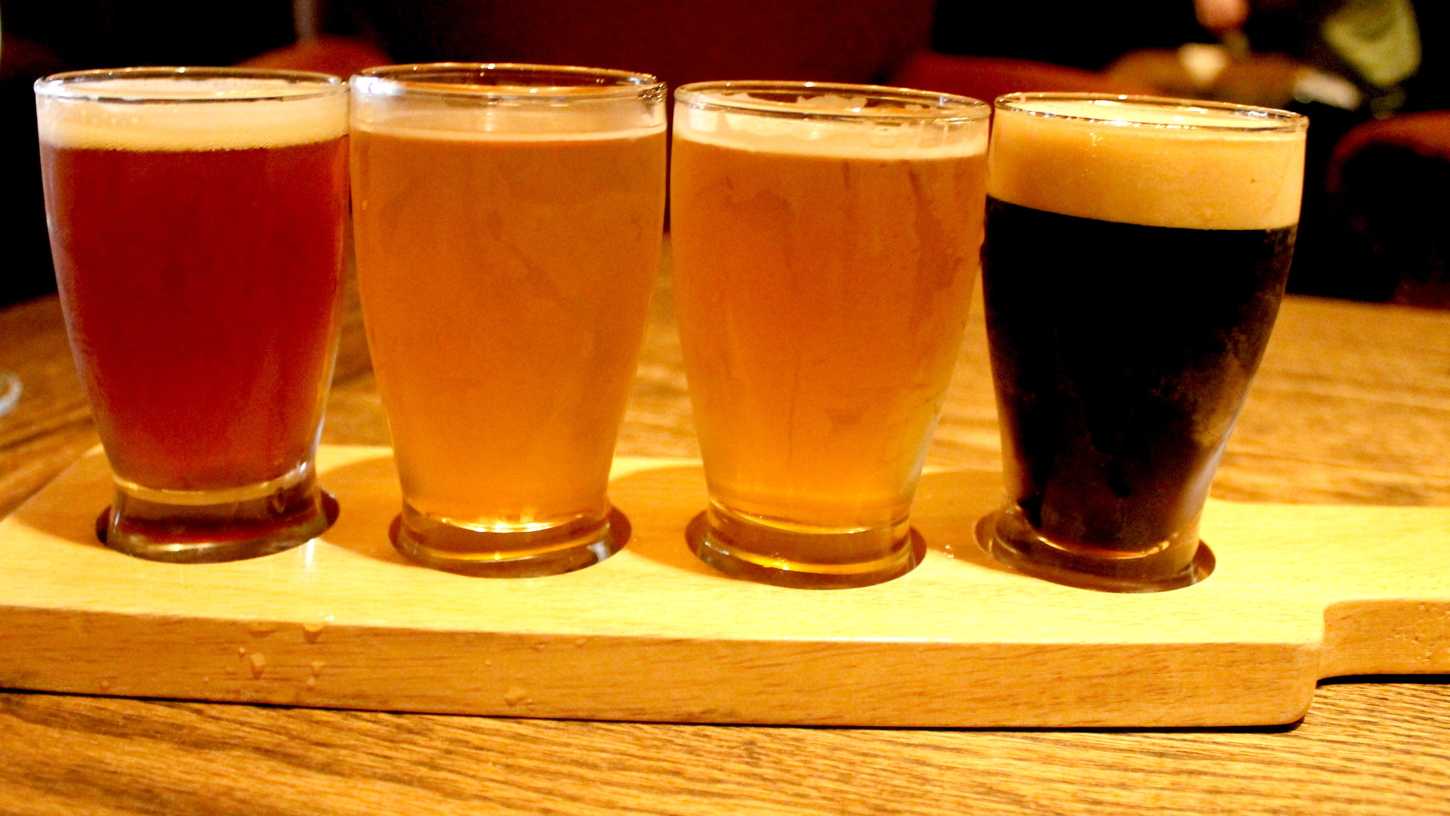 SideDoor beer flight