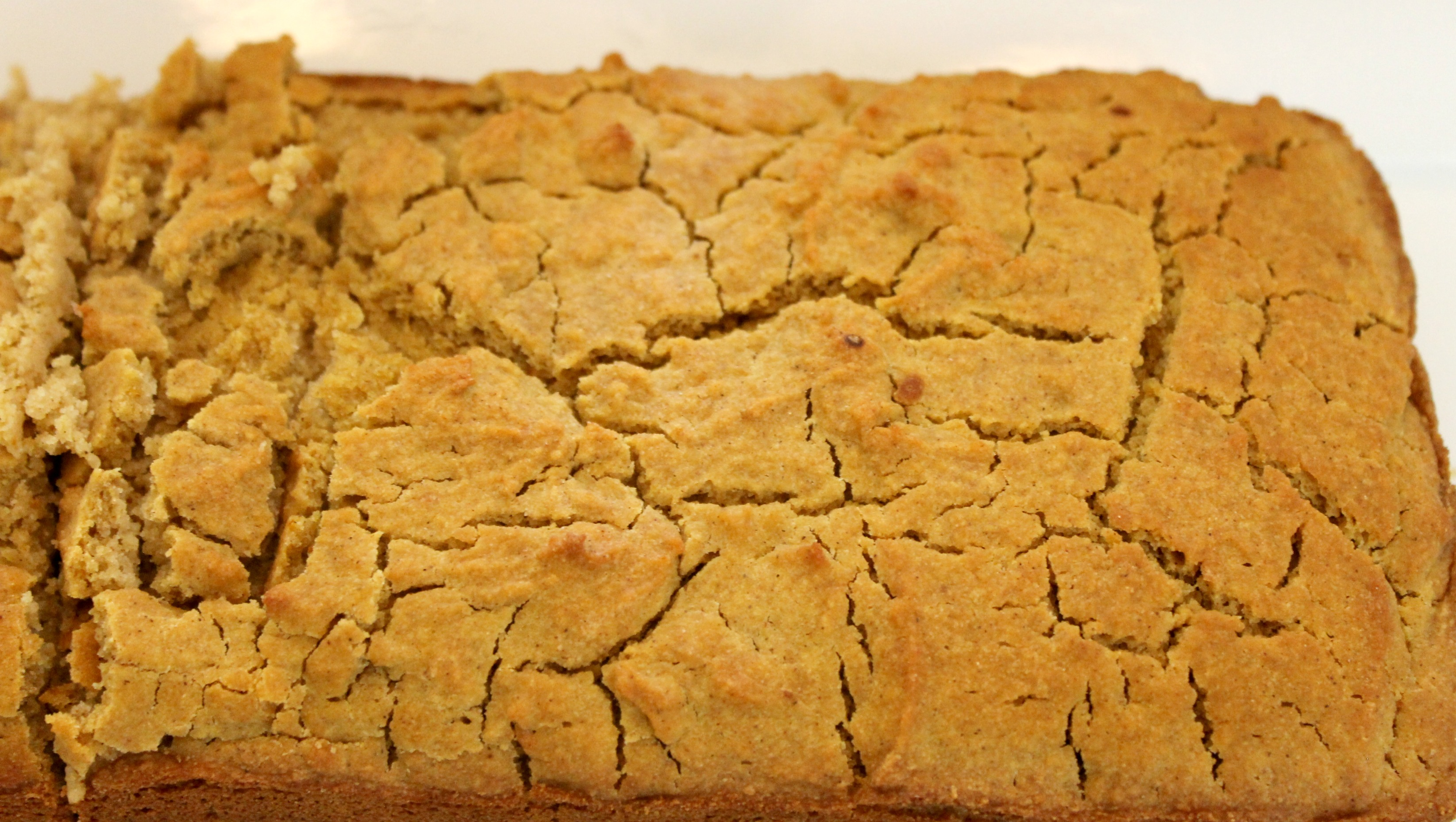 pumpkin beer bread close up