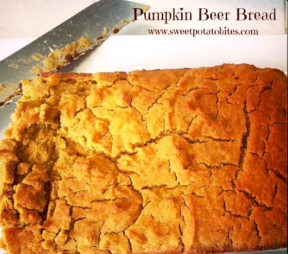 pumpkin beer bread pin