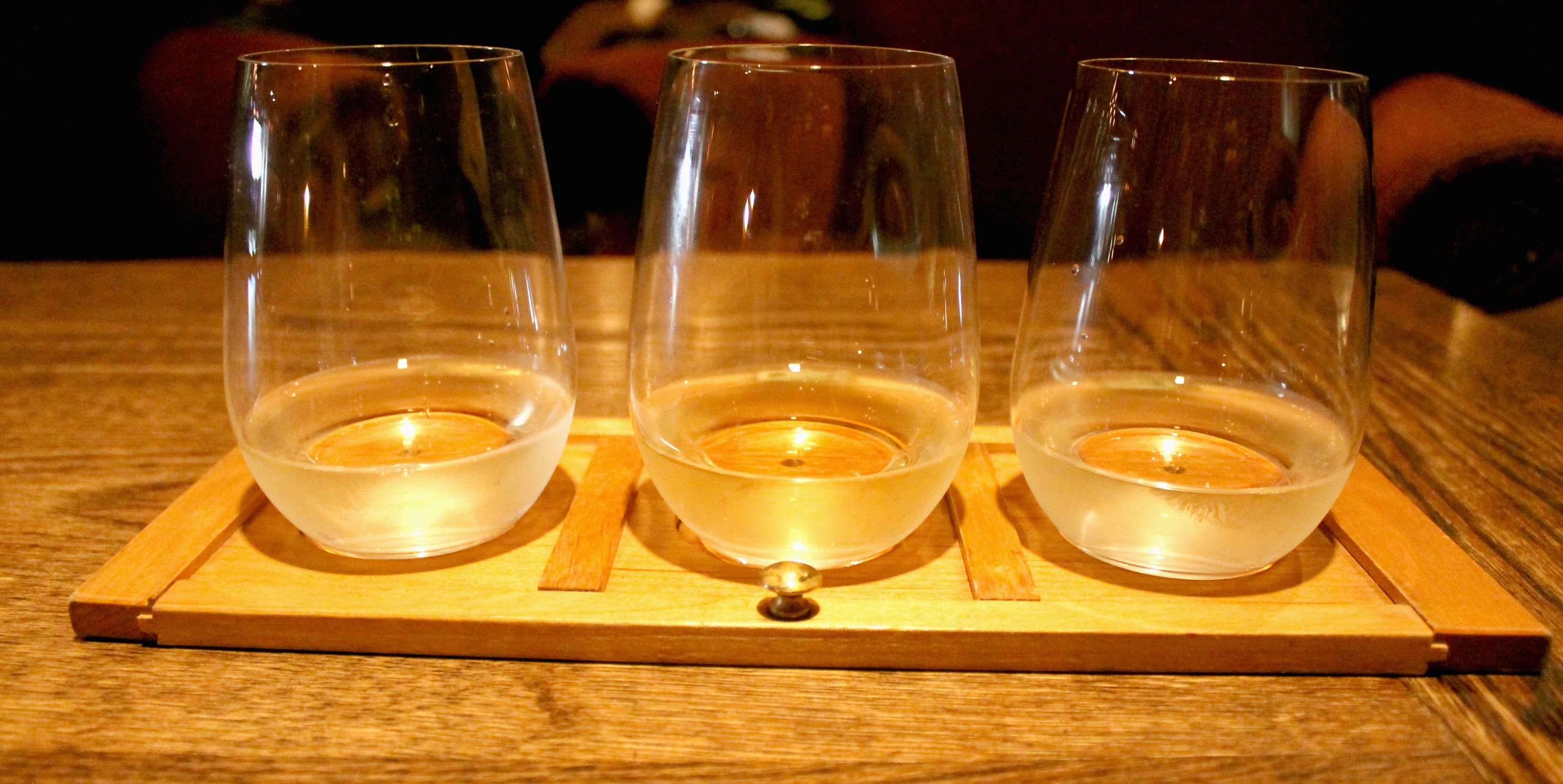 sidedoor new wine flight