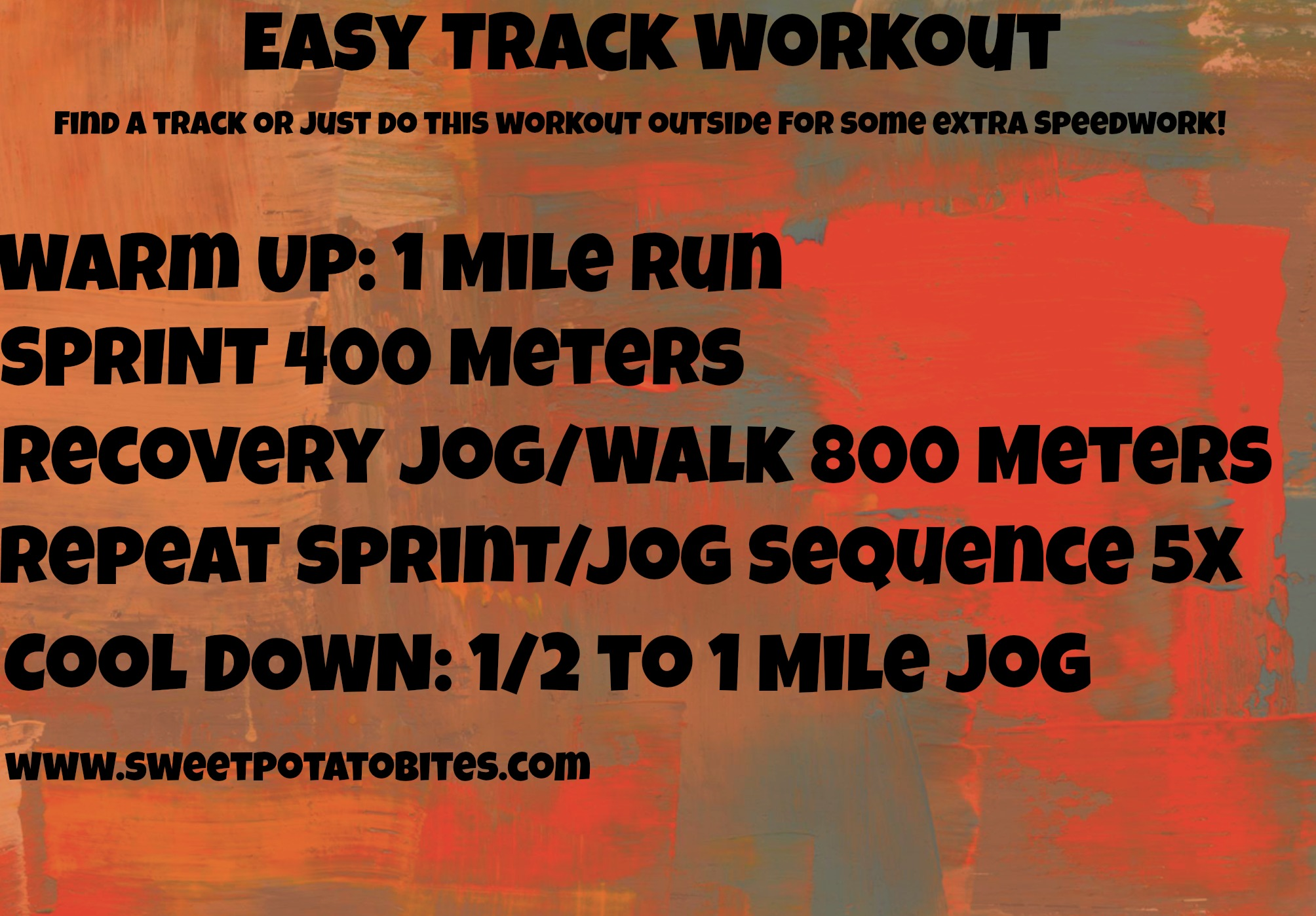Easy Track Workout