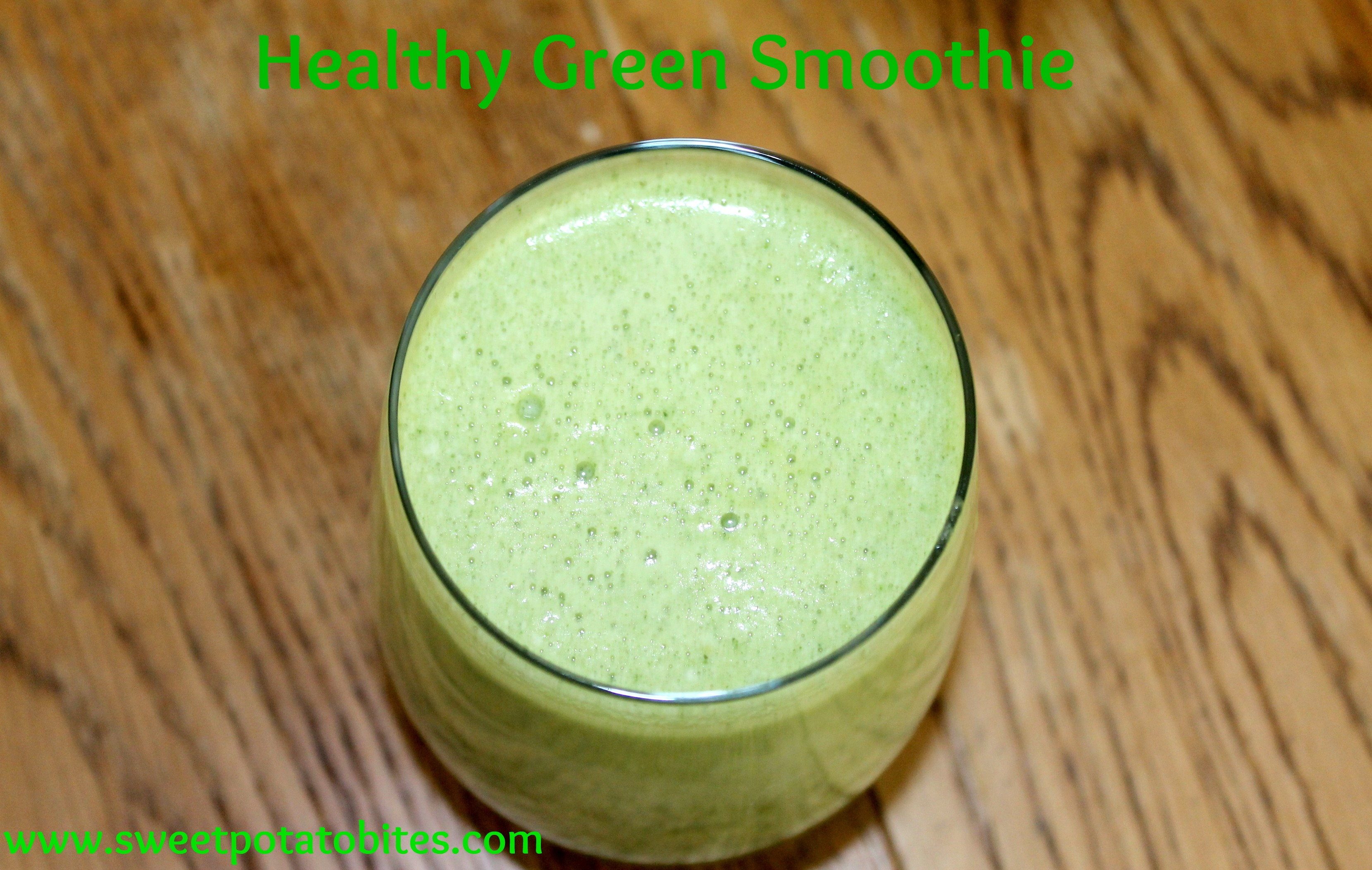 Healthy Green Smoothie pin