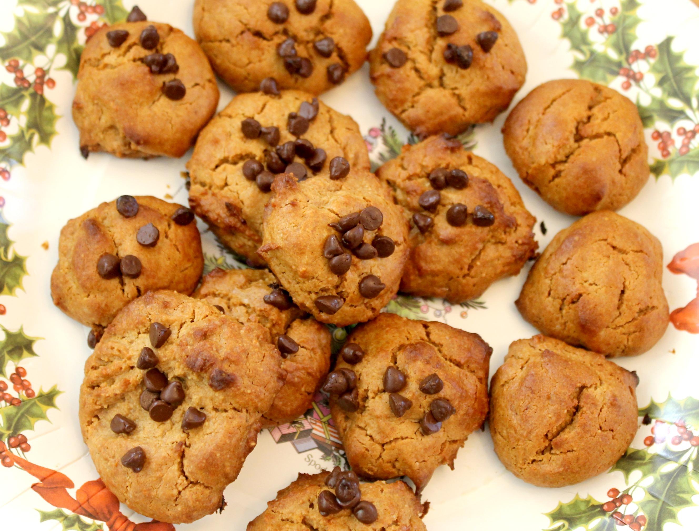 Flourless Honey Peanut Butter cookies