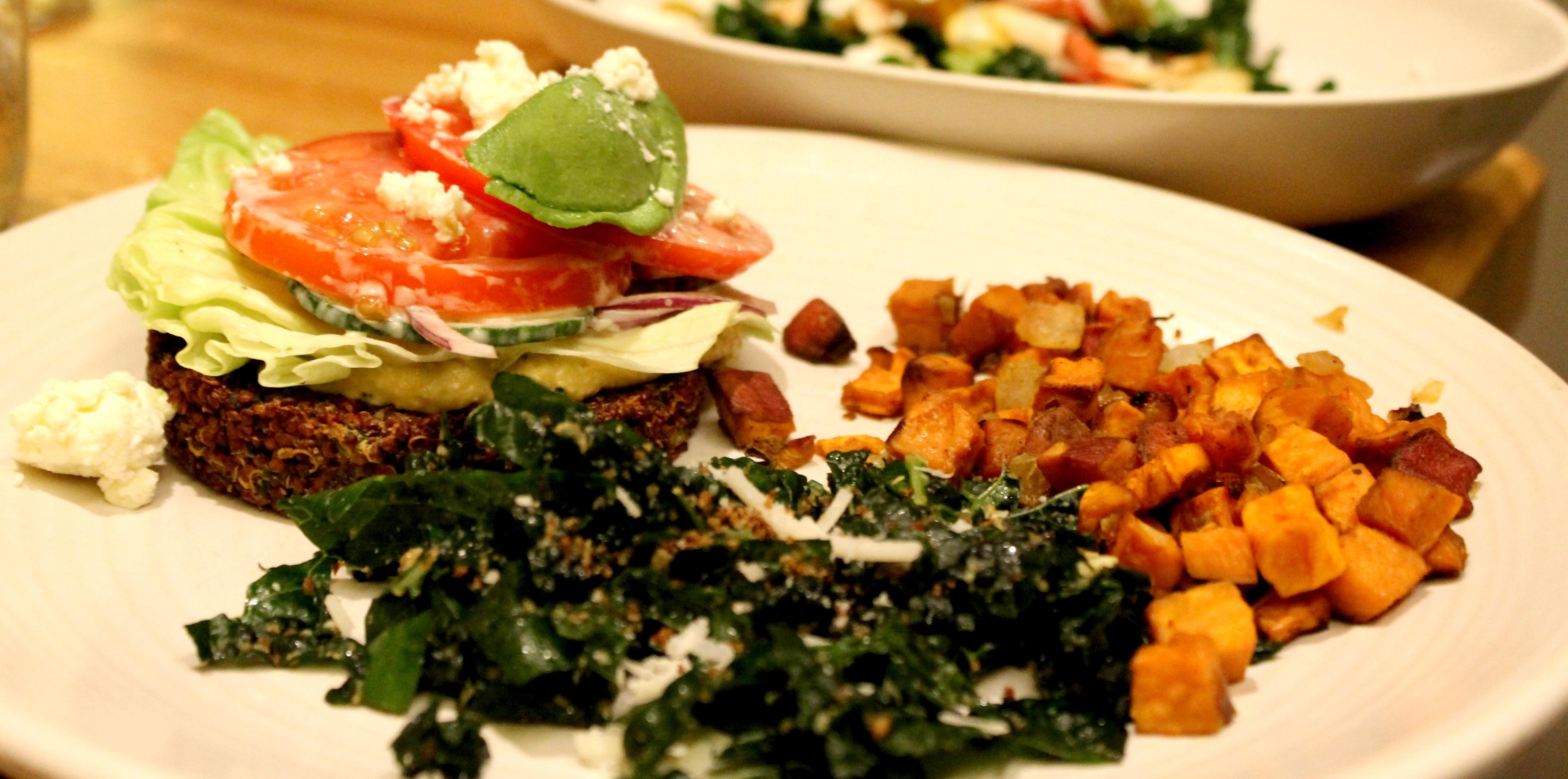 New Fall Menu True Food Kitchen Quinoa Burger 2
