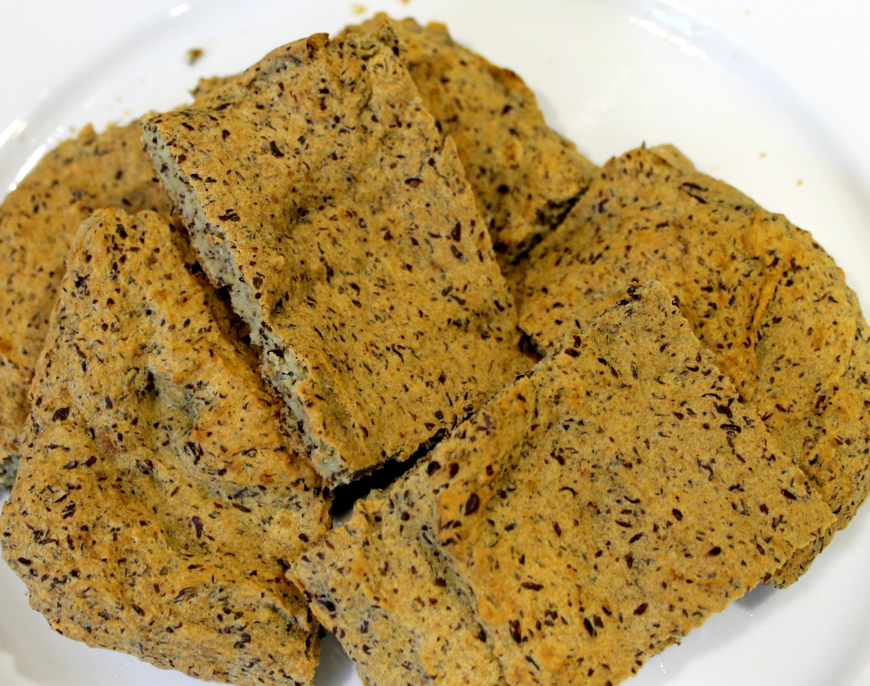 Paleo Flax Bread Close