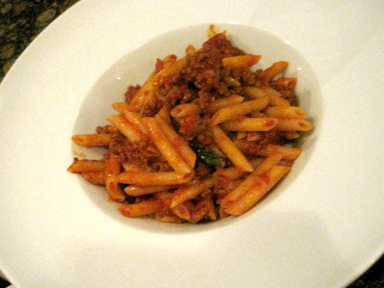 Lupo Restaurant Penne Bolognese