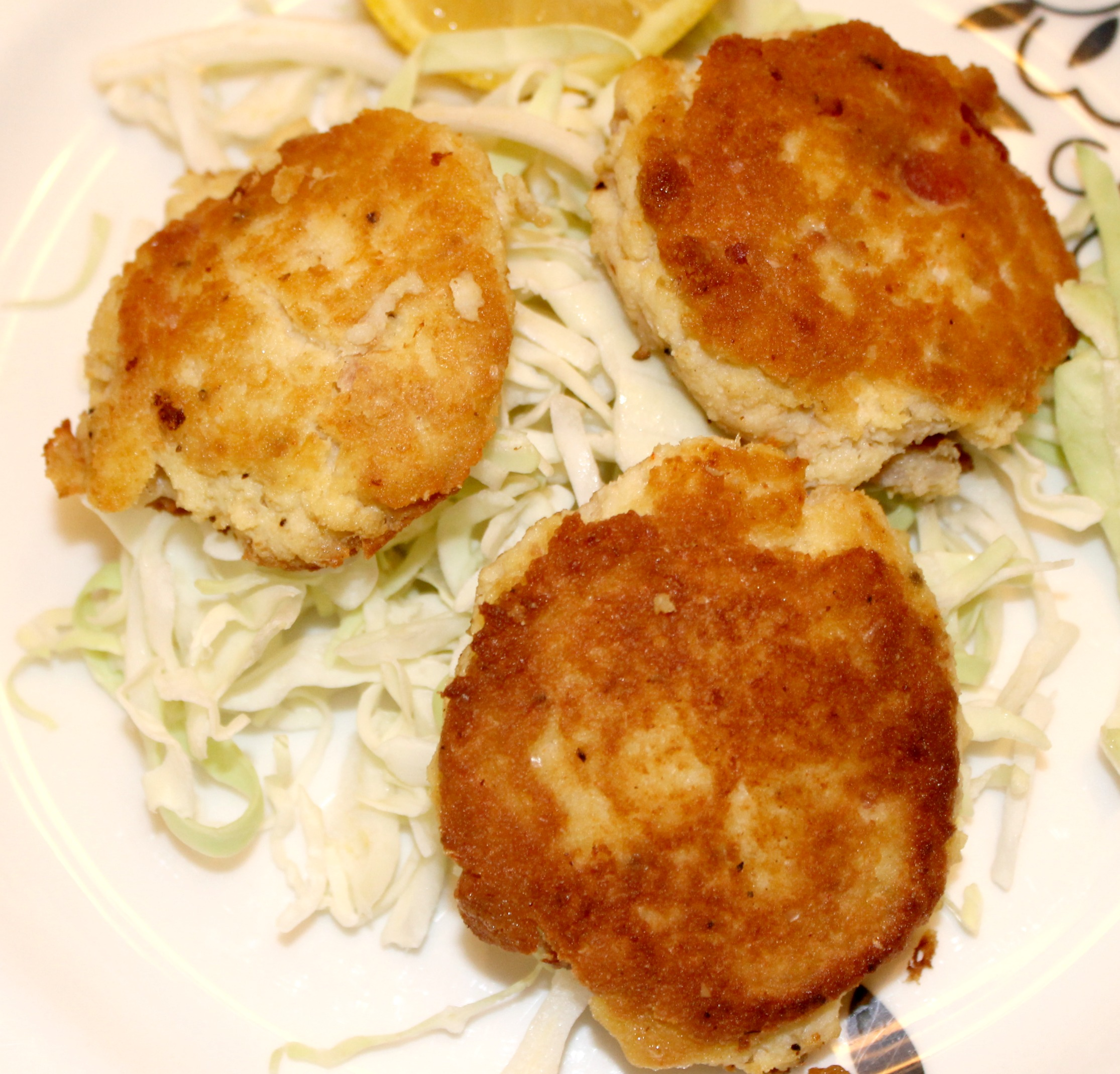 Paleo Bacon Crab Cakes