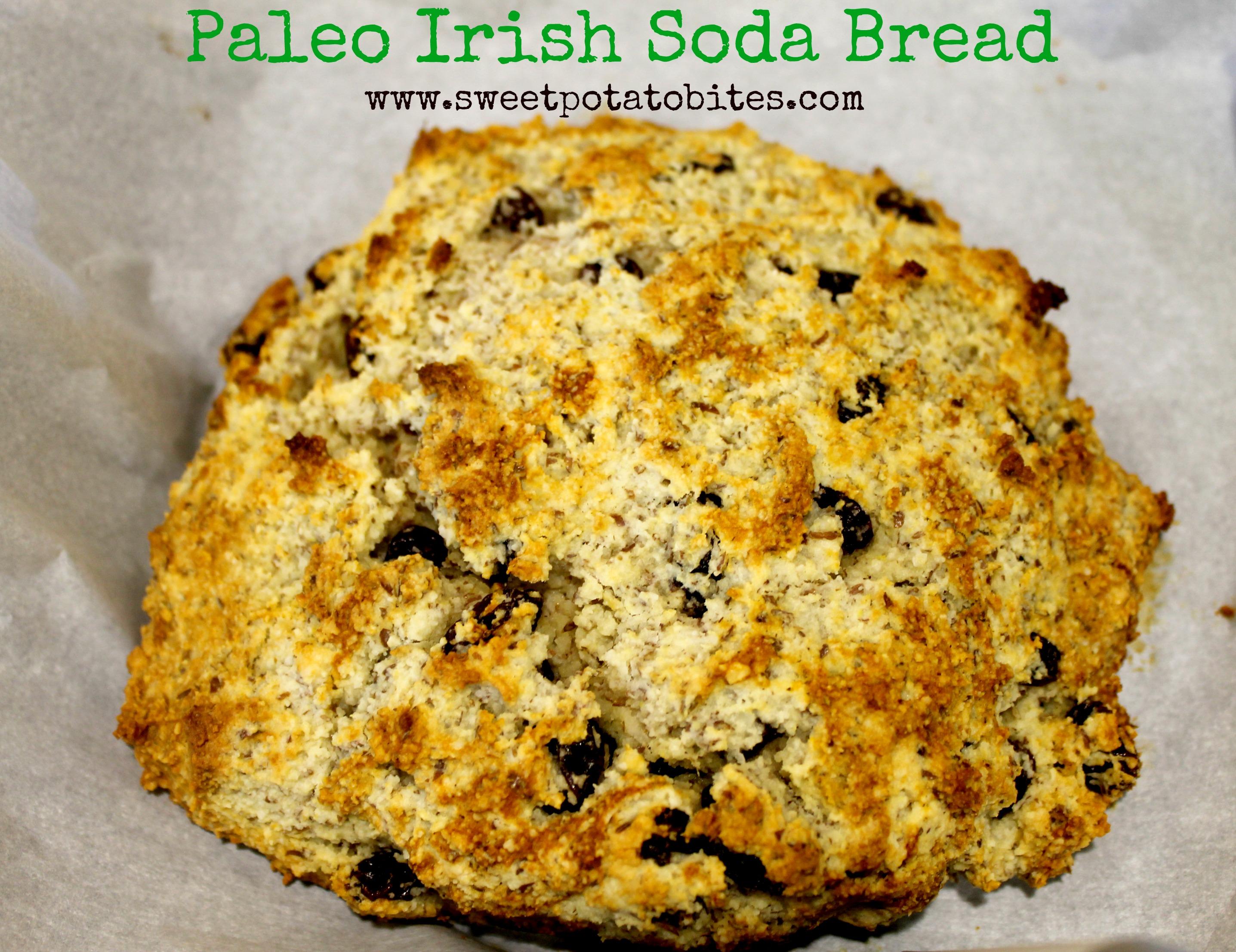 Paleo Irish Soda Bread pin