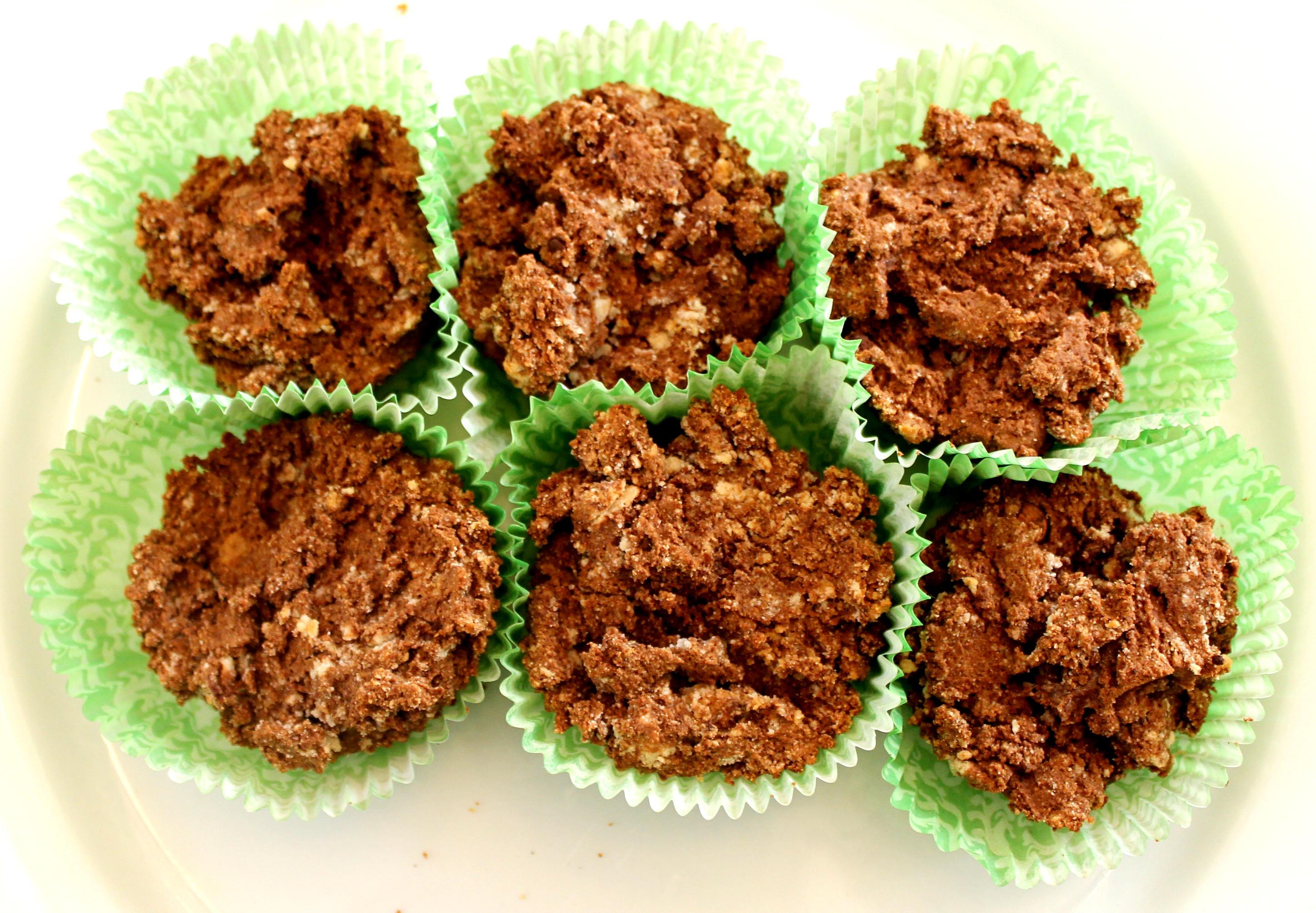 Cocoa Protein Muffins