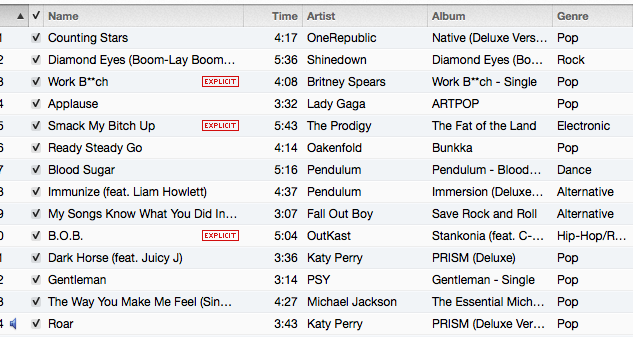 Running Playlist