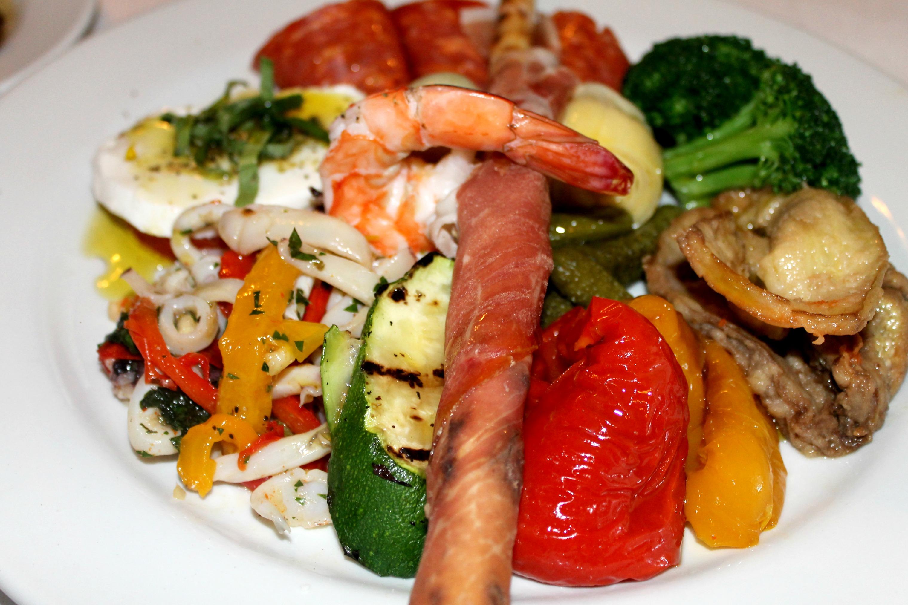 Trattoria Grappolo Antipasto Salad