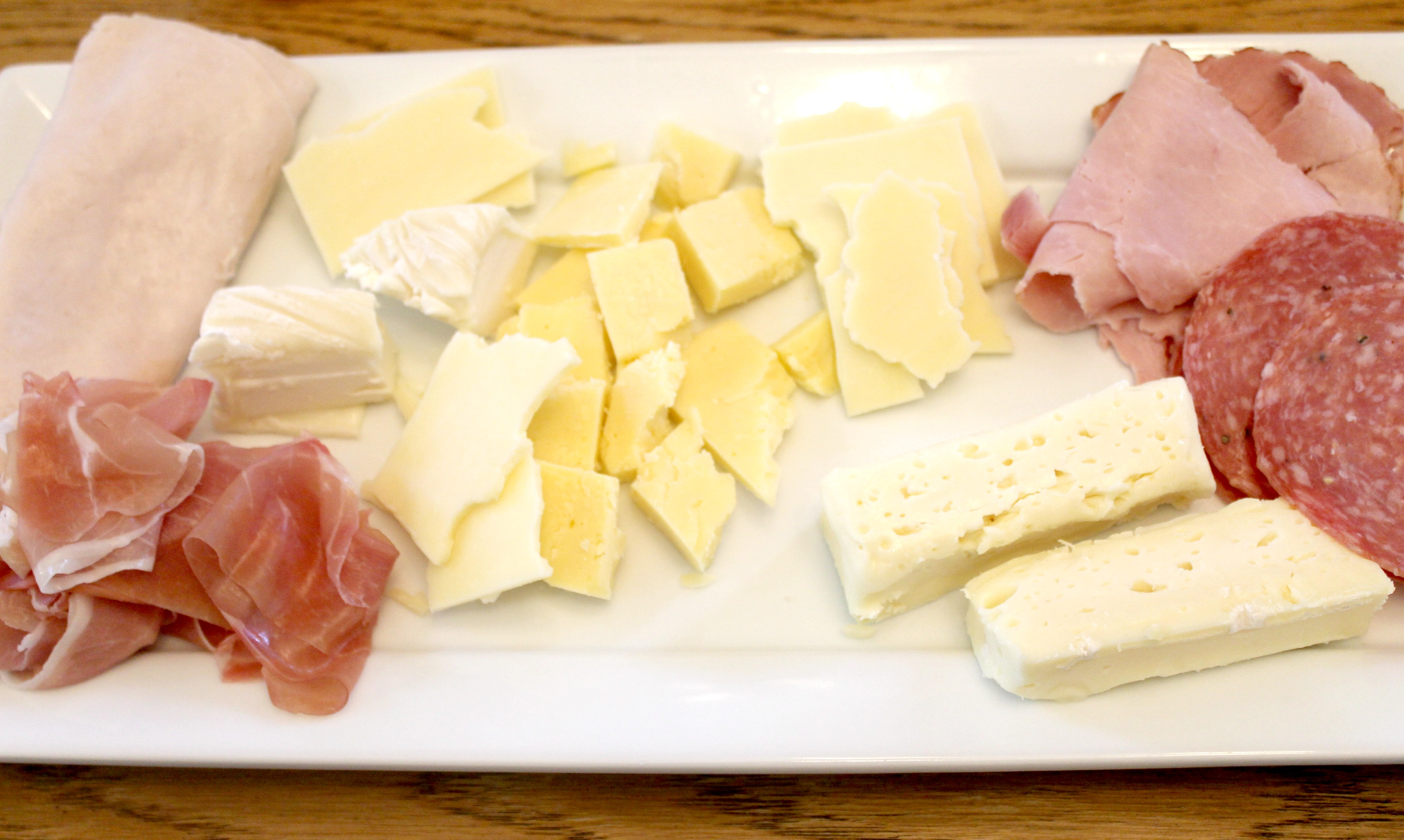 homemade antipasto salad cheese