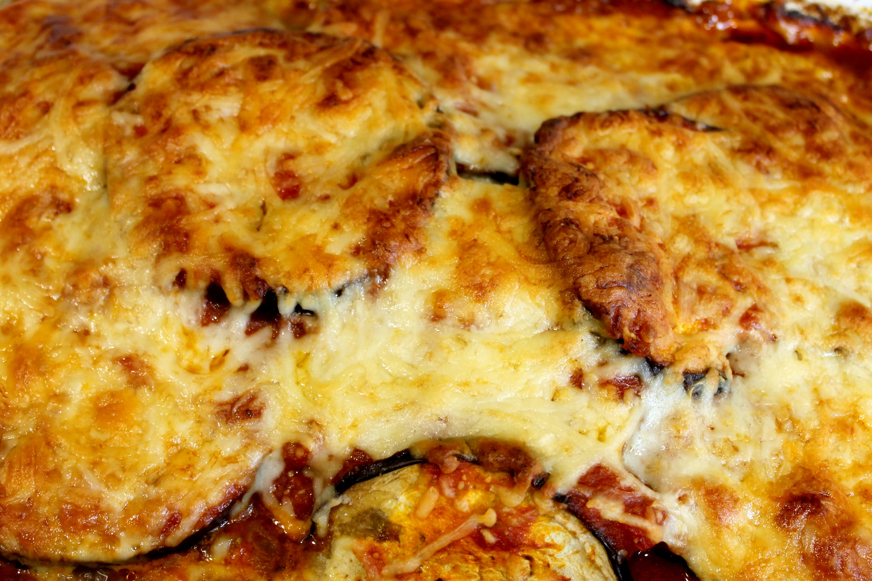 Easy Eggplant Lasagna Close