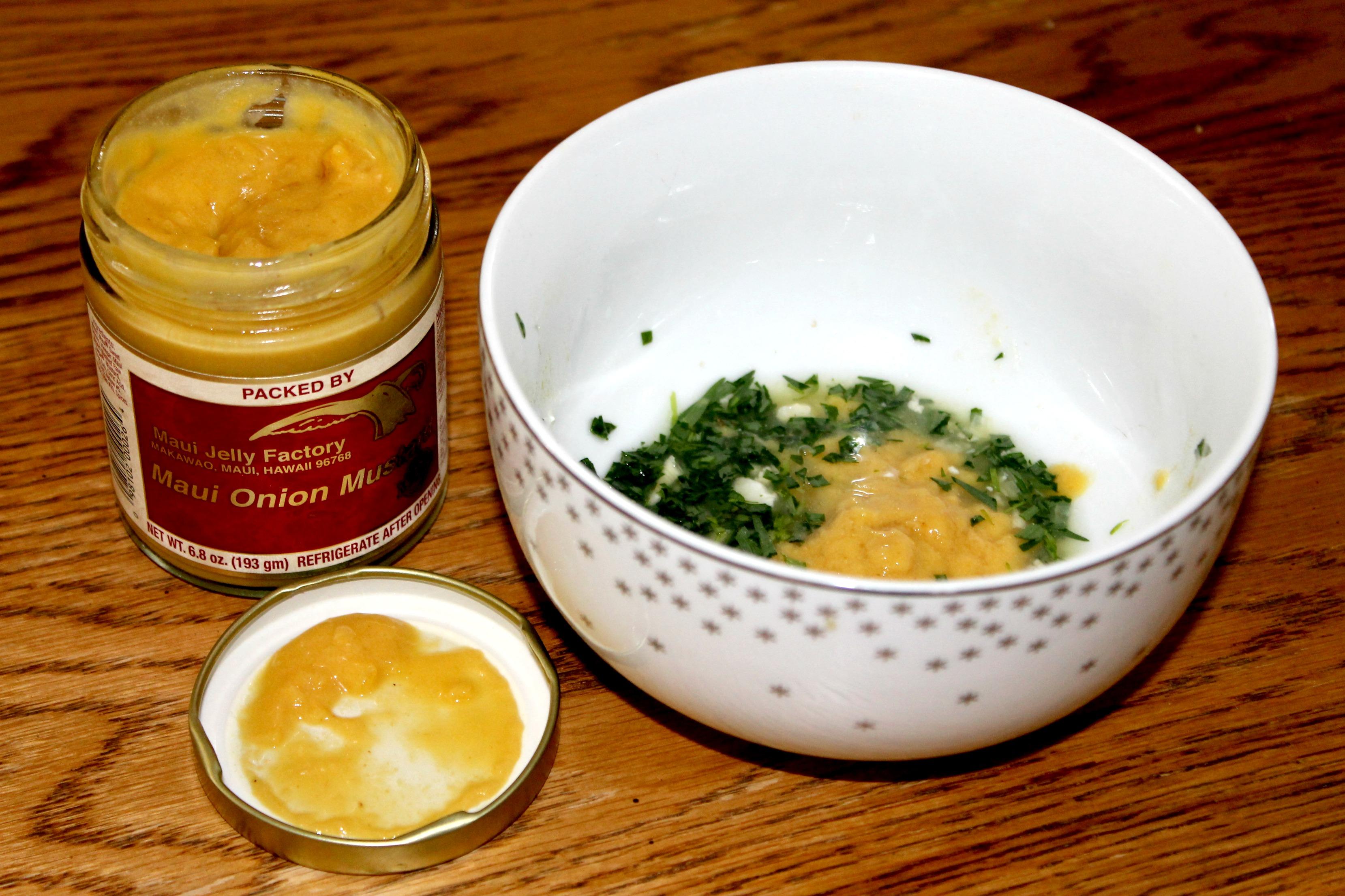 Blue apron niman ranch - Blue Apron Meals Mustard