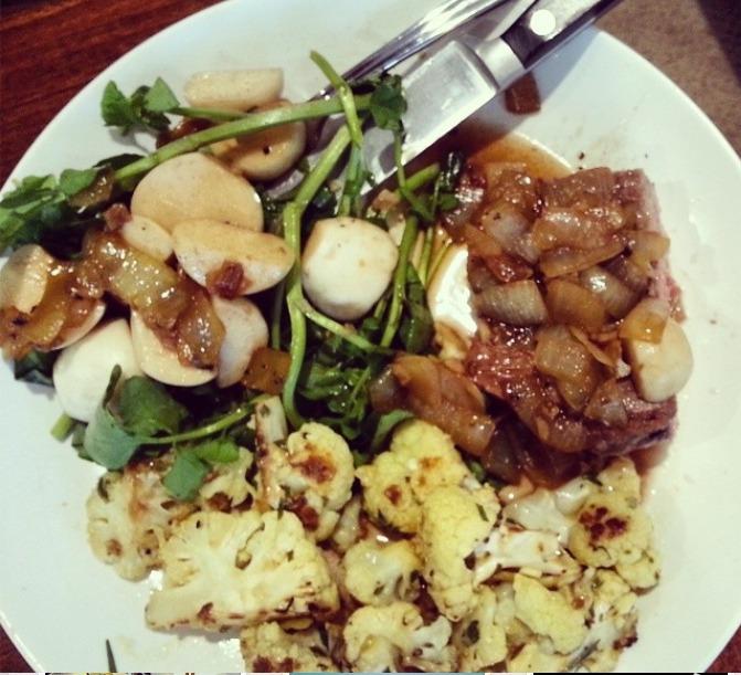 Blue Apron Meals plate 2