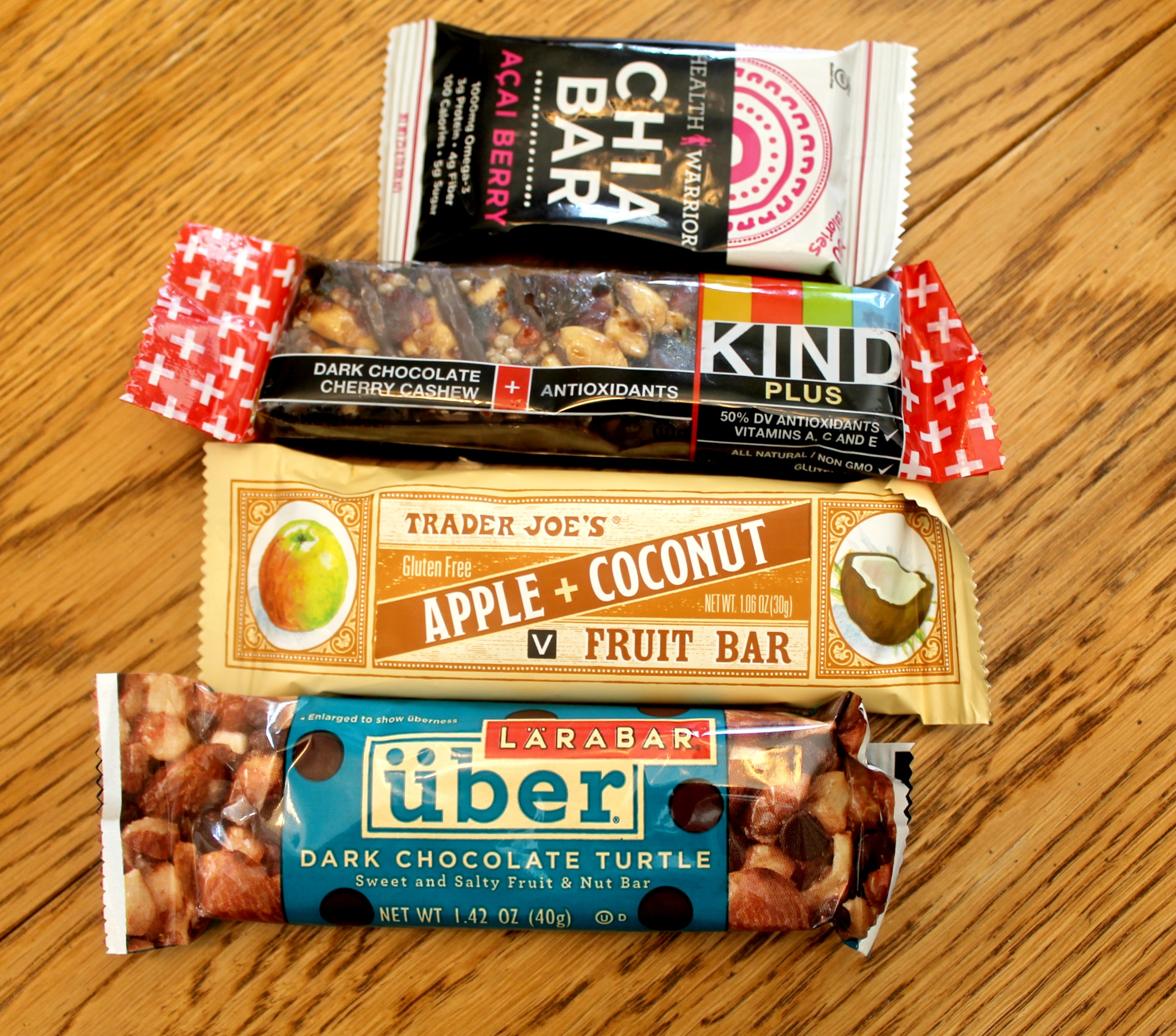 Healthy Travel Snacks Bars