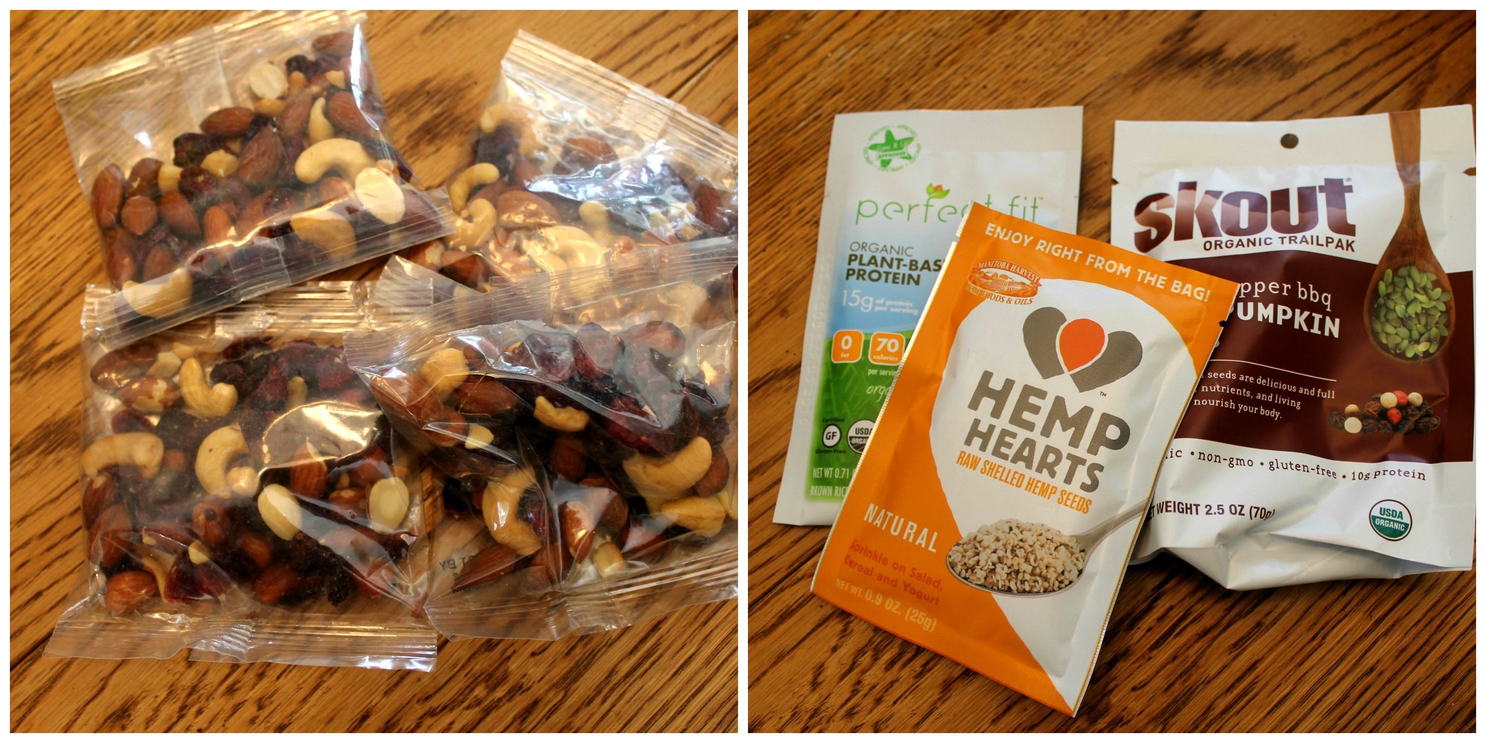 Healthy Travel Snacks Nuts and Seeds