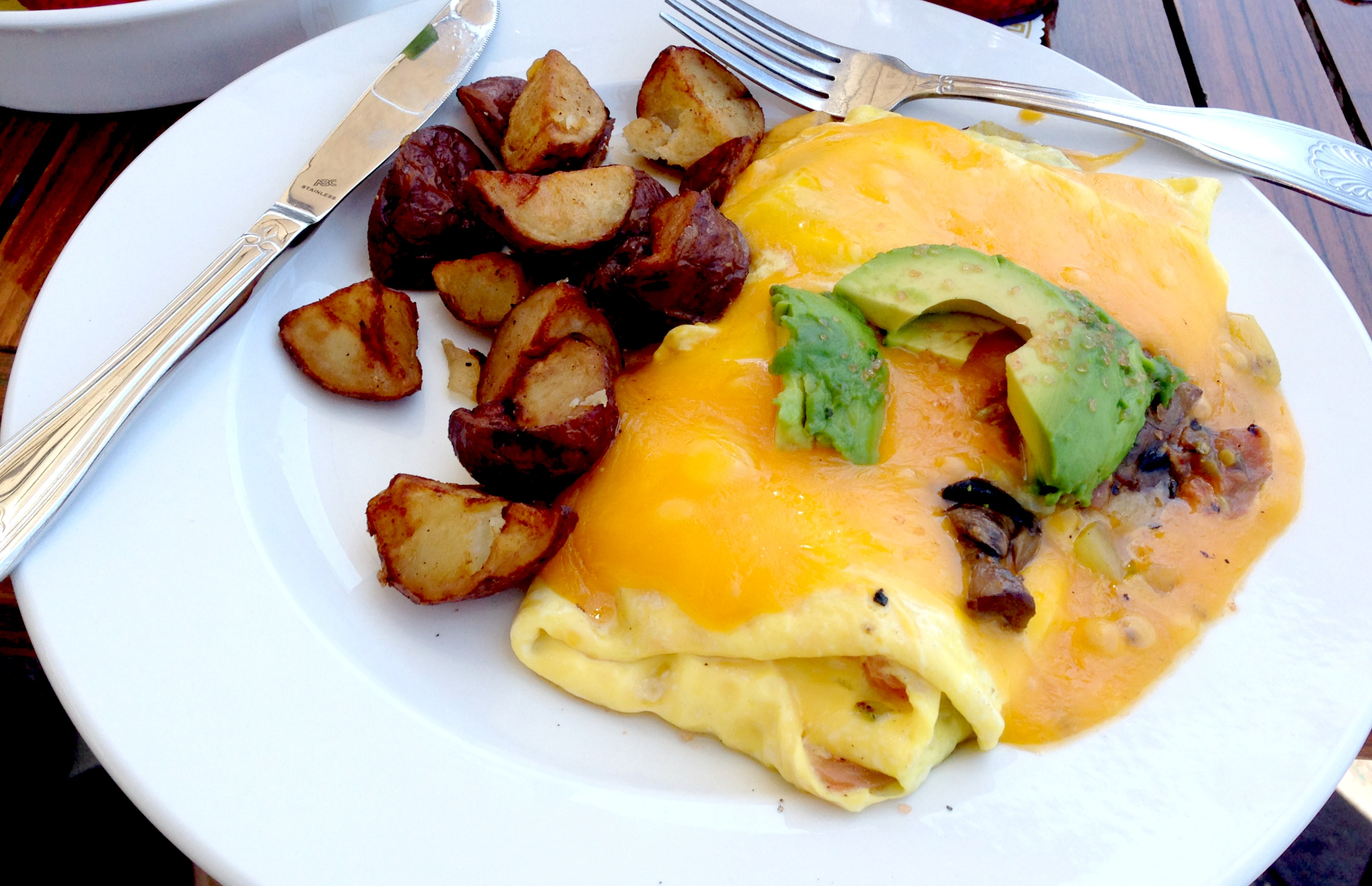Koa's Seaside Grill Omelette