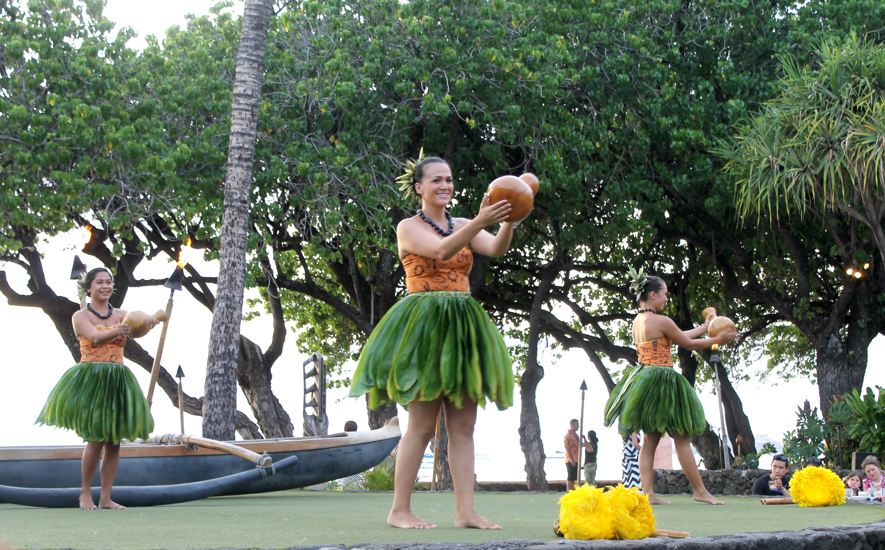 The Old Lahaina Luau Dancers