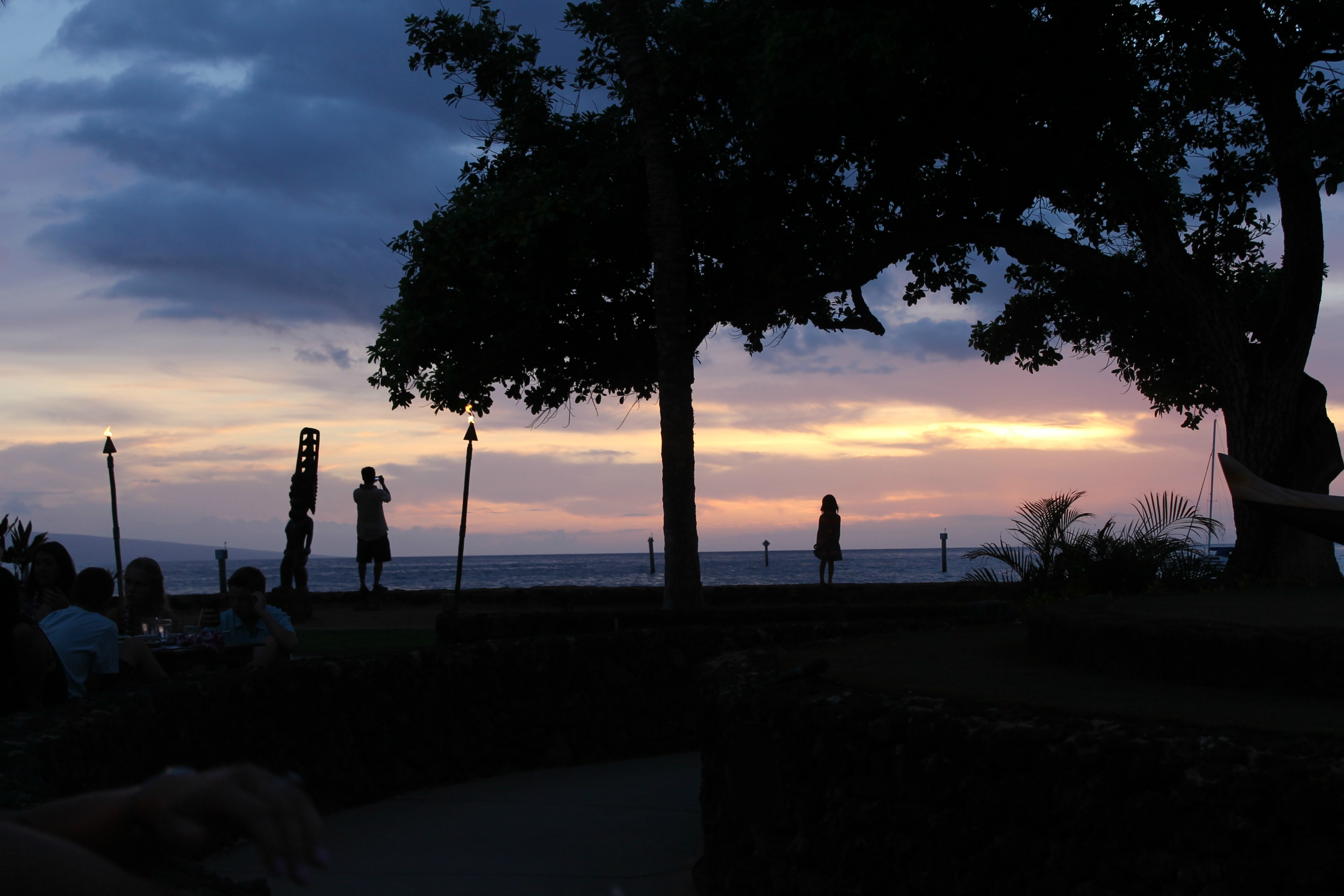 The Old Lahaina Luau Sunset