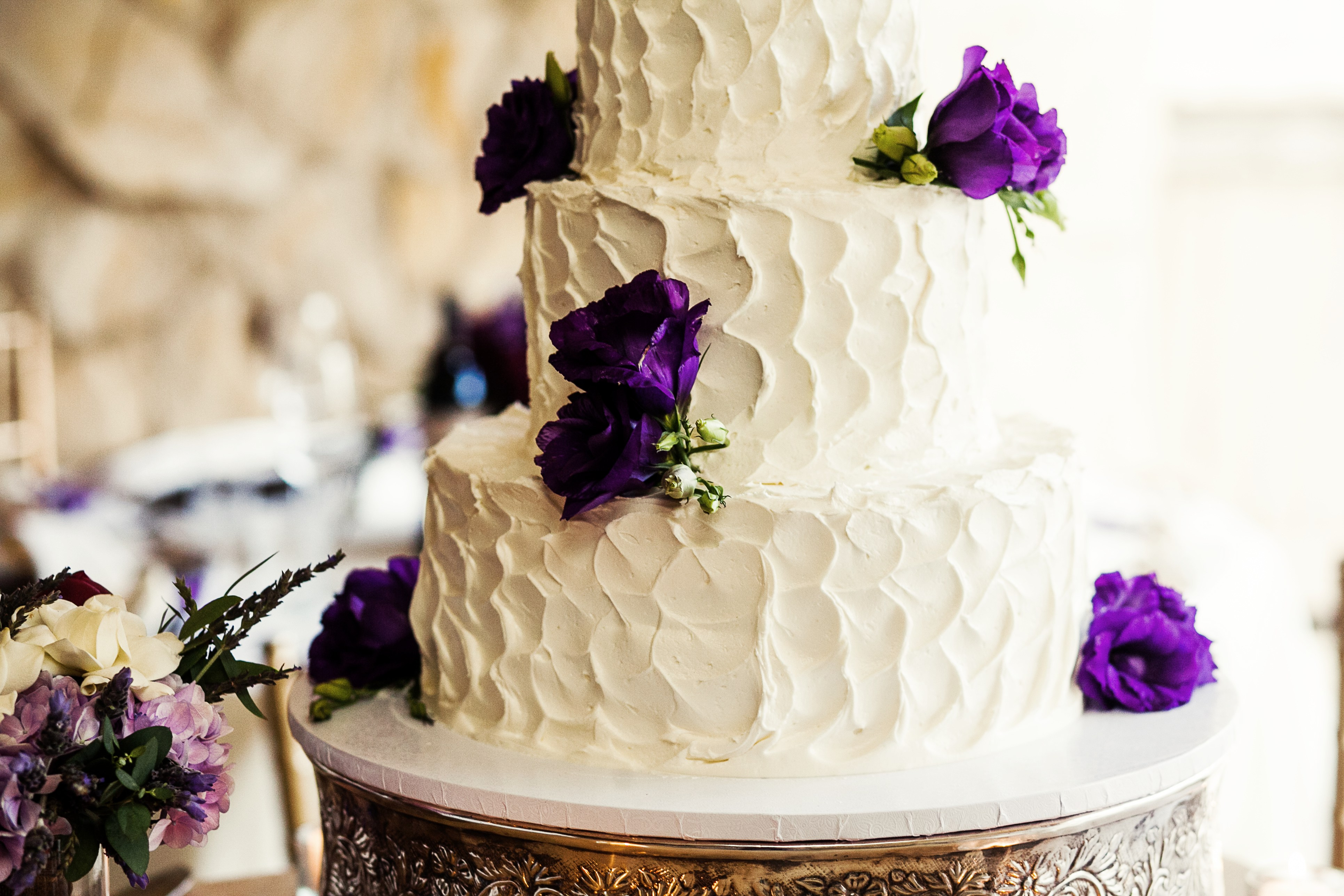 Solvang Bakery Wedding Cake