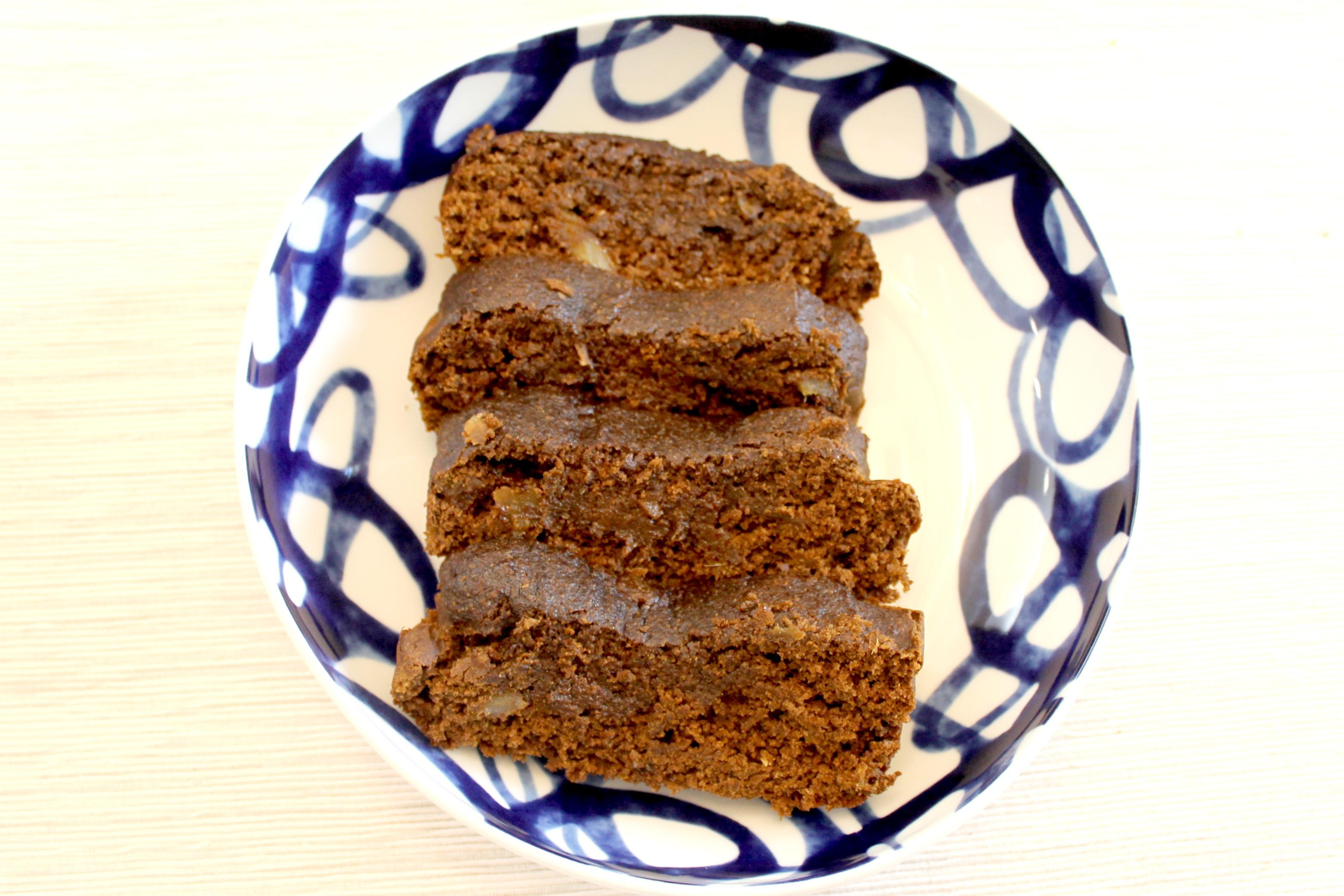 Ginger Tea Cake Slices