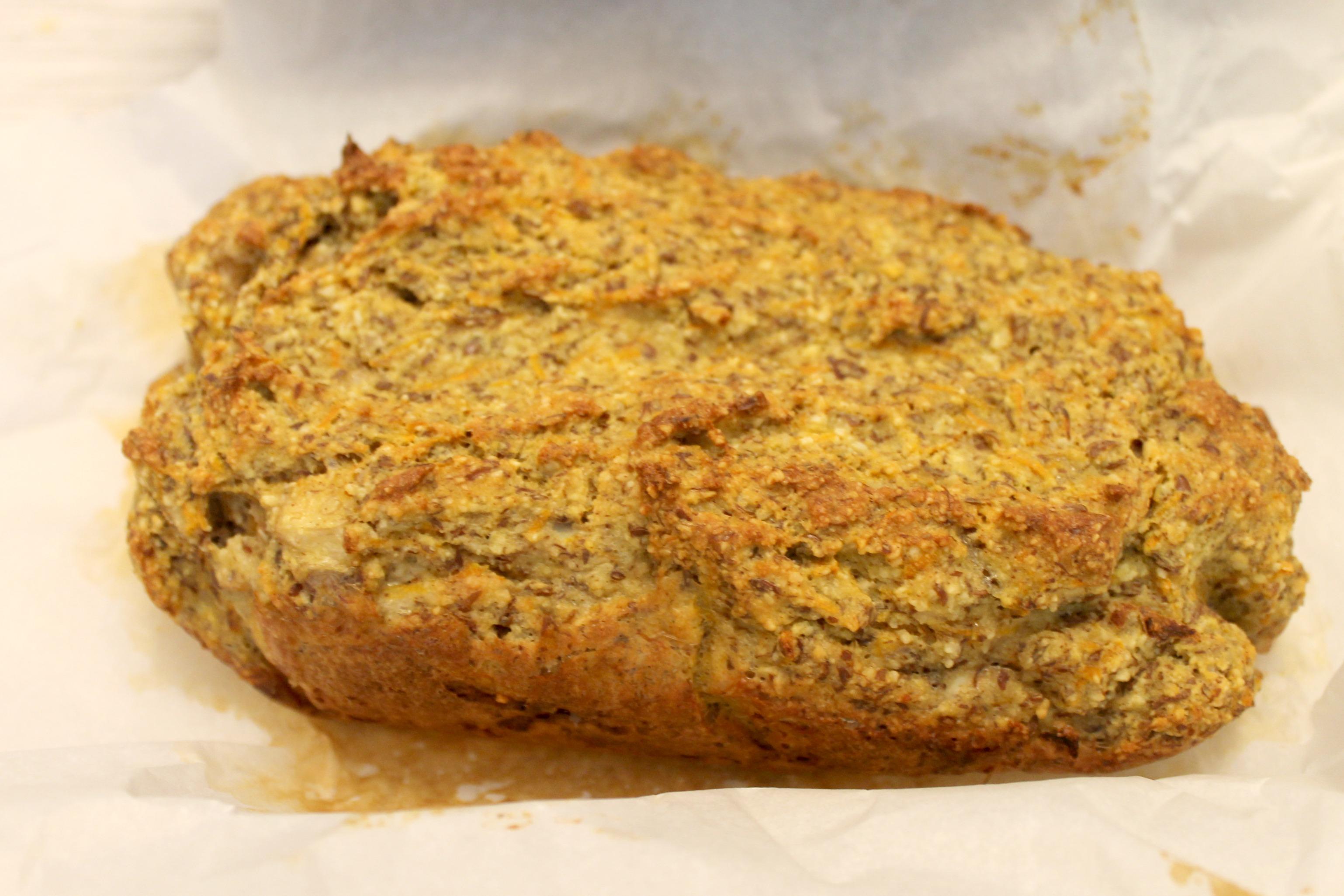 Grain-Free Carrot Banana Bread