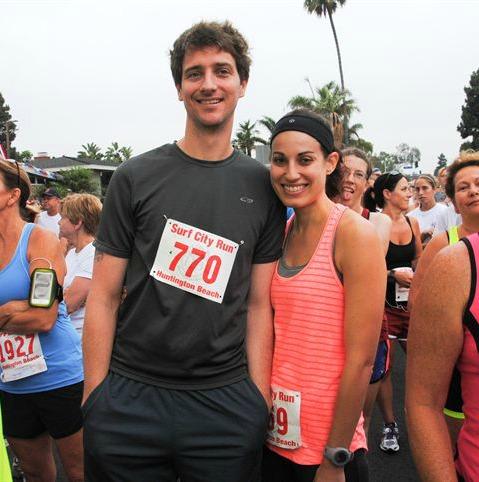 Joe and Allie Surf City Run