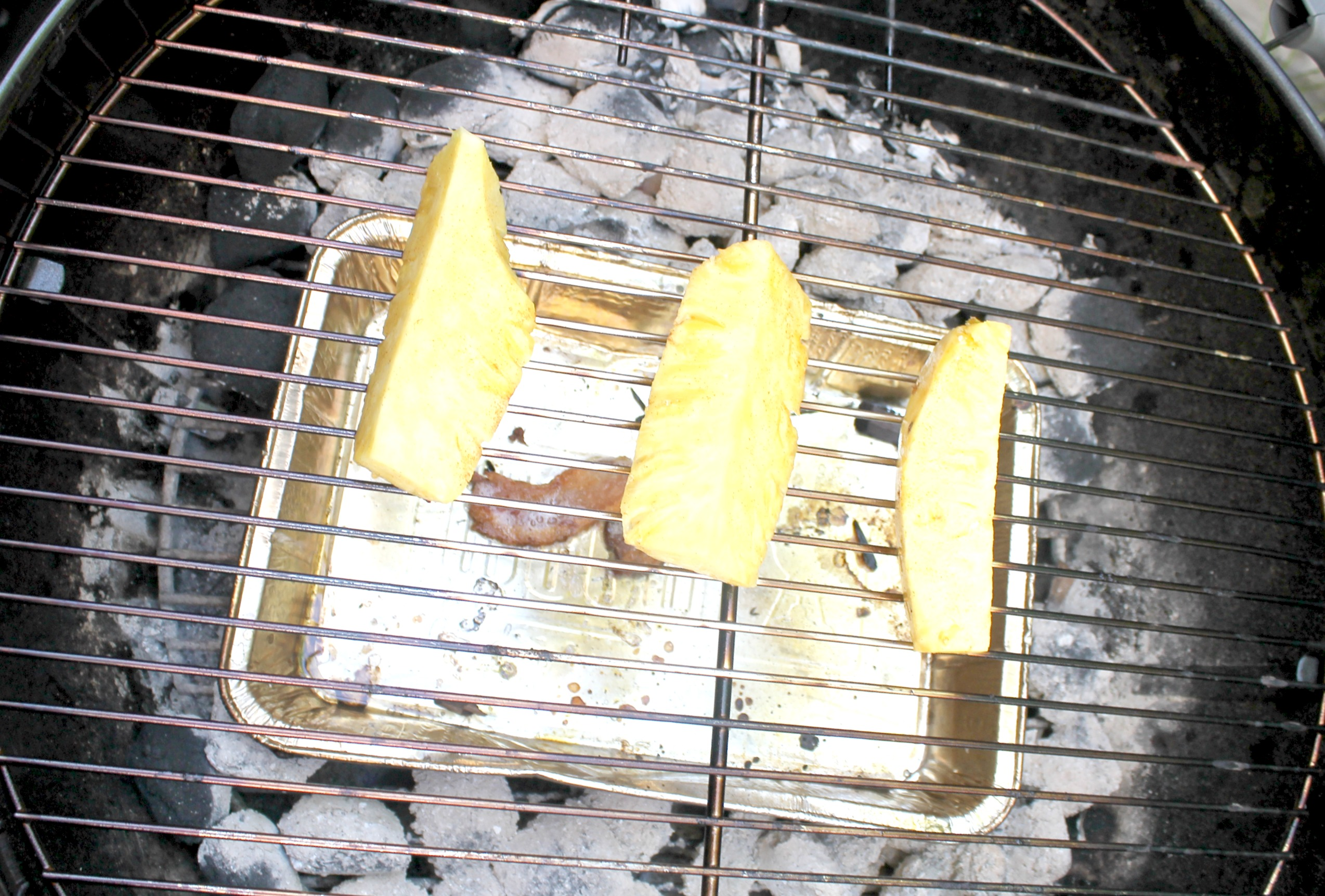 grilled pineapple dessert grill