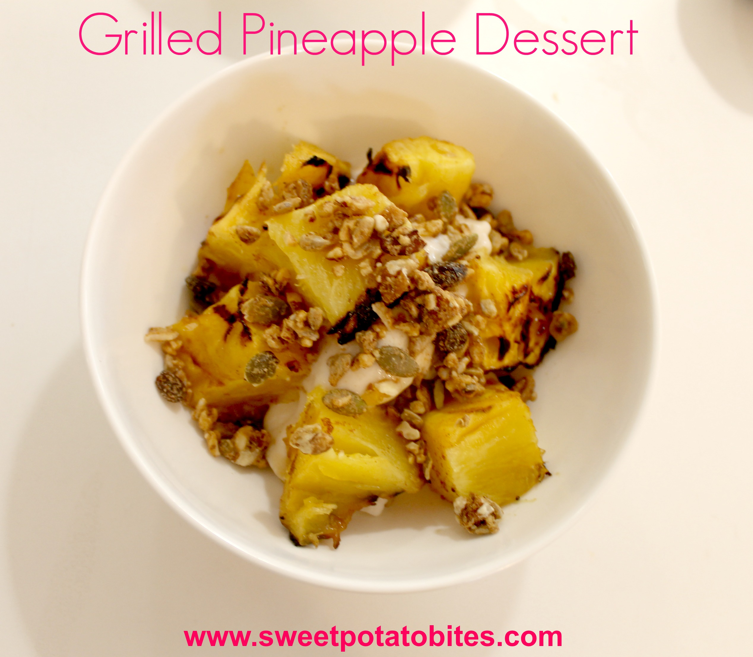 Grilled Pineapple Dessert pin
