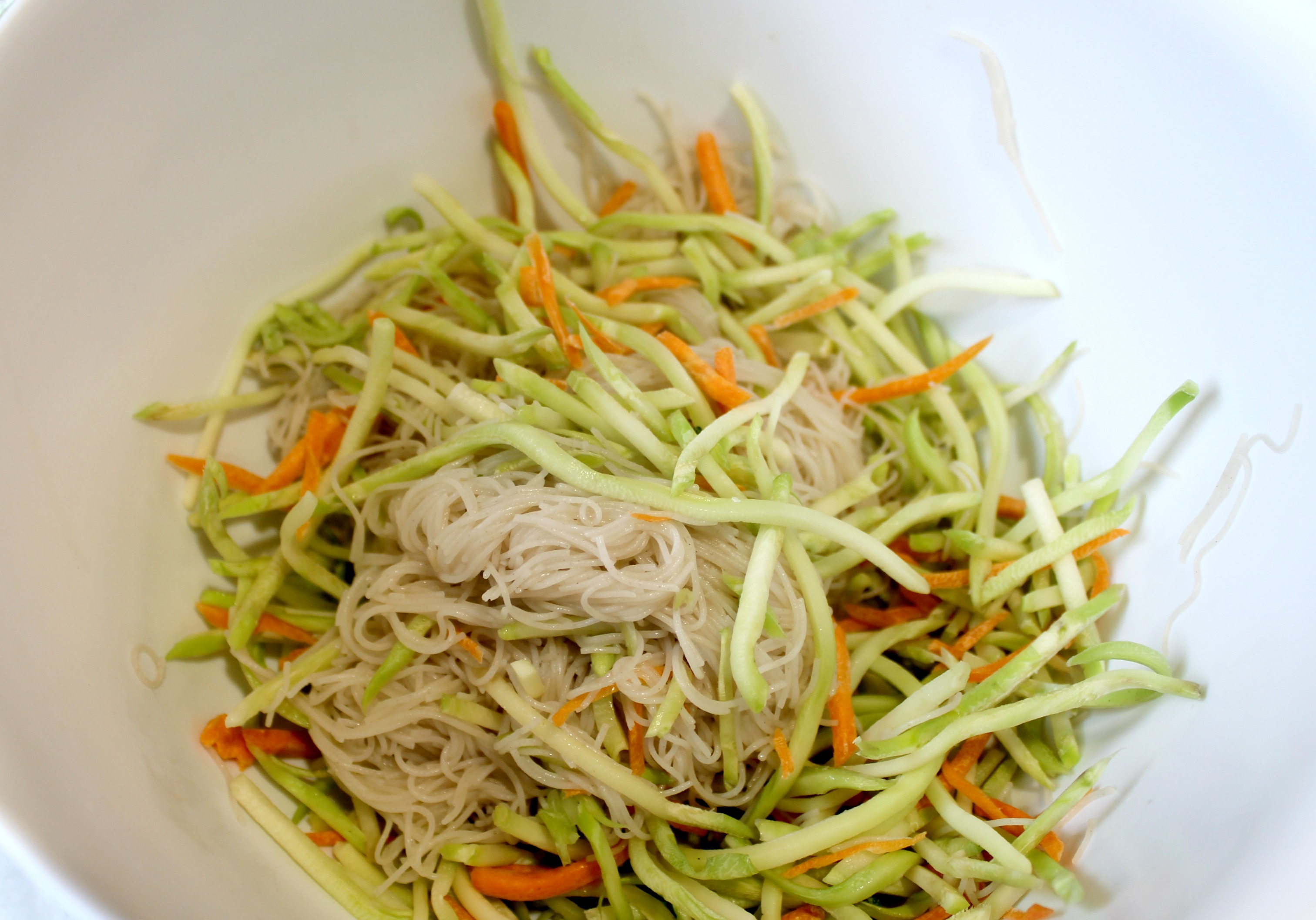 Asian Noodle Salad with Broccoli Slaw