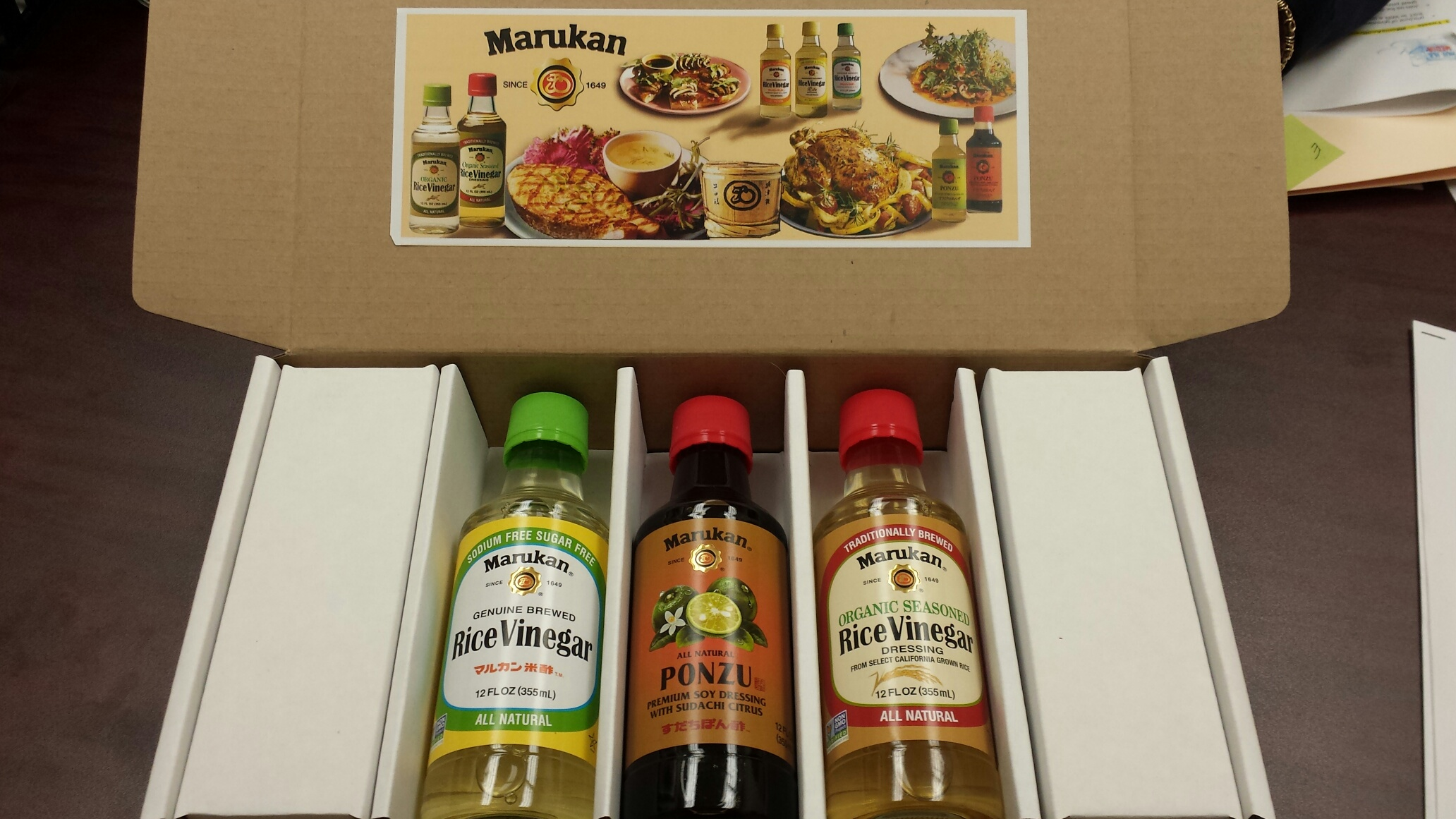 Marukan Vinegar Gift Pack