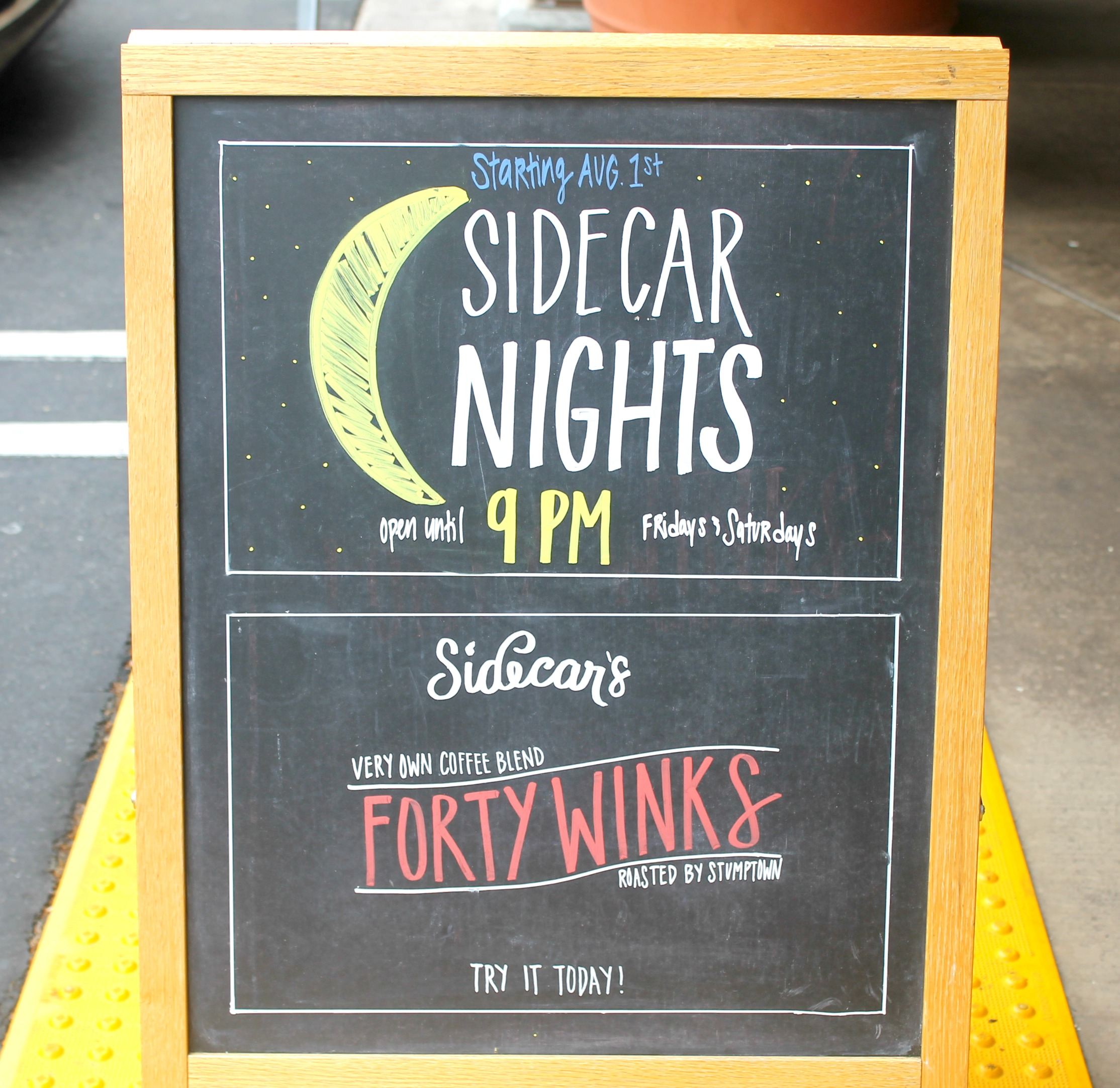 Summer at Sidecar Doughnuts Summer nights