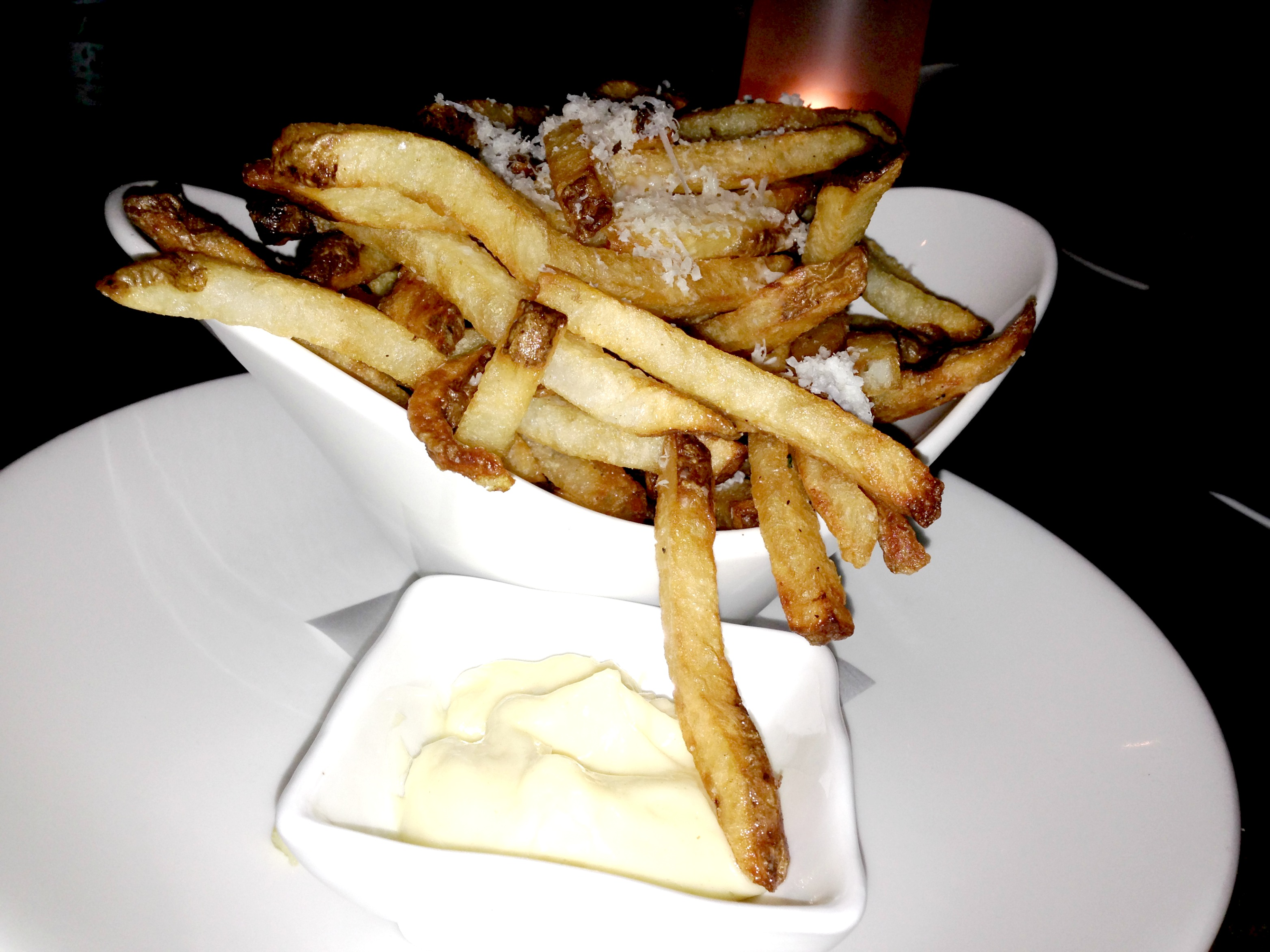 Dinner at brassaii fries