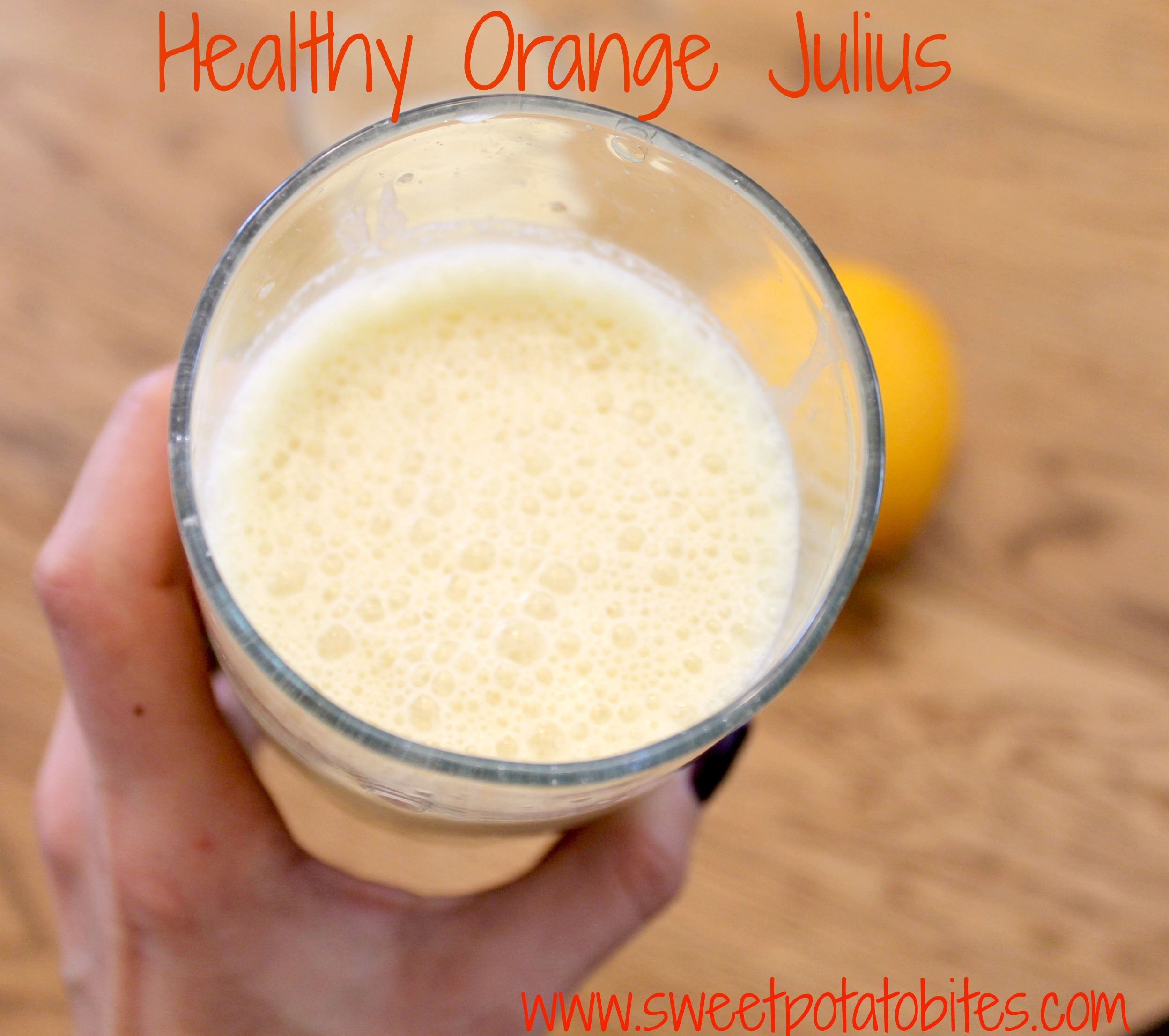 Healthy Orange Julius Pin