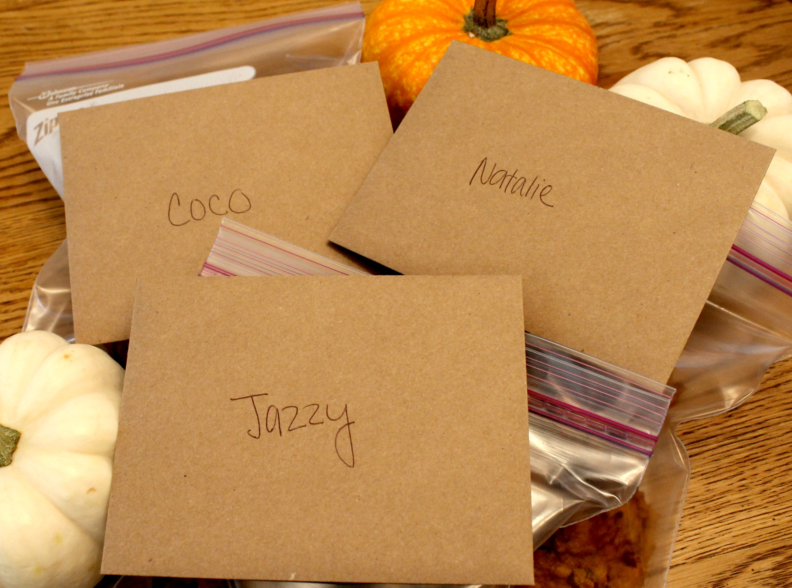 grain free pumpkin cookies cards